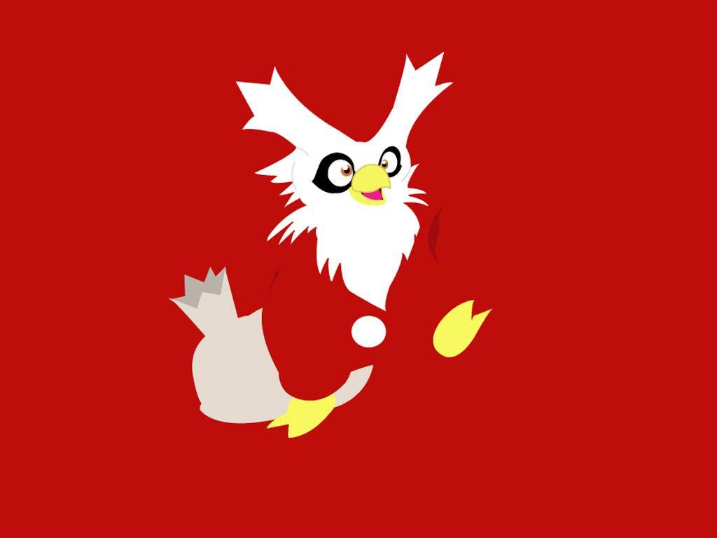 Delibird Wallpaper Red by Xebeckle-il-Ziluf on DeviantArt