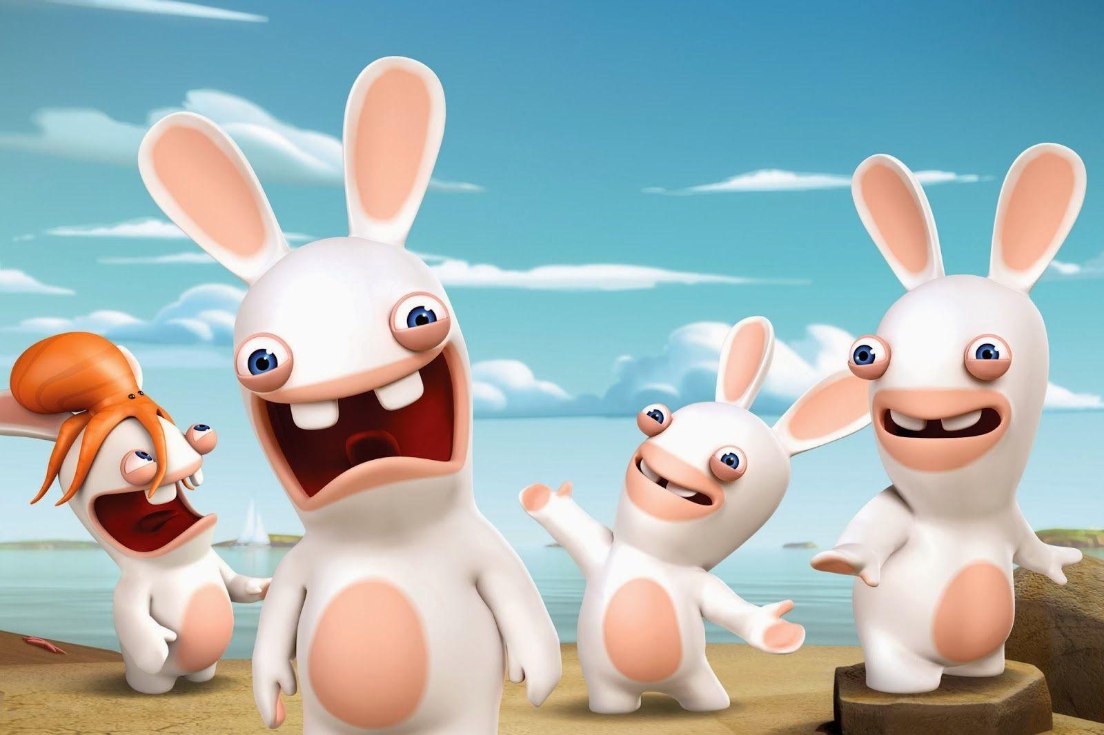 Raving Rabbids Invasion Nickelodeon Wallpaper
