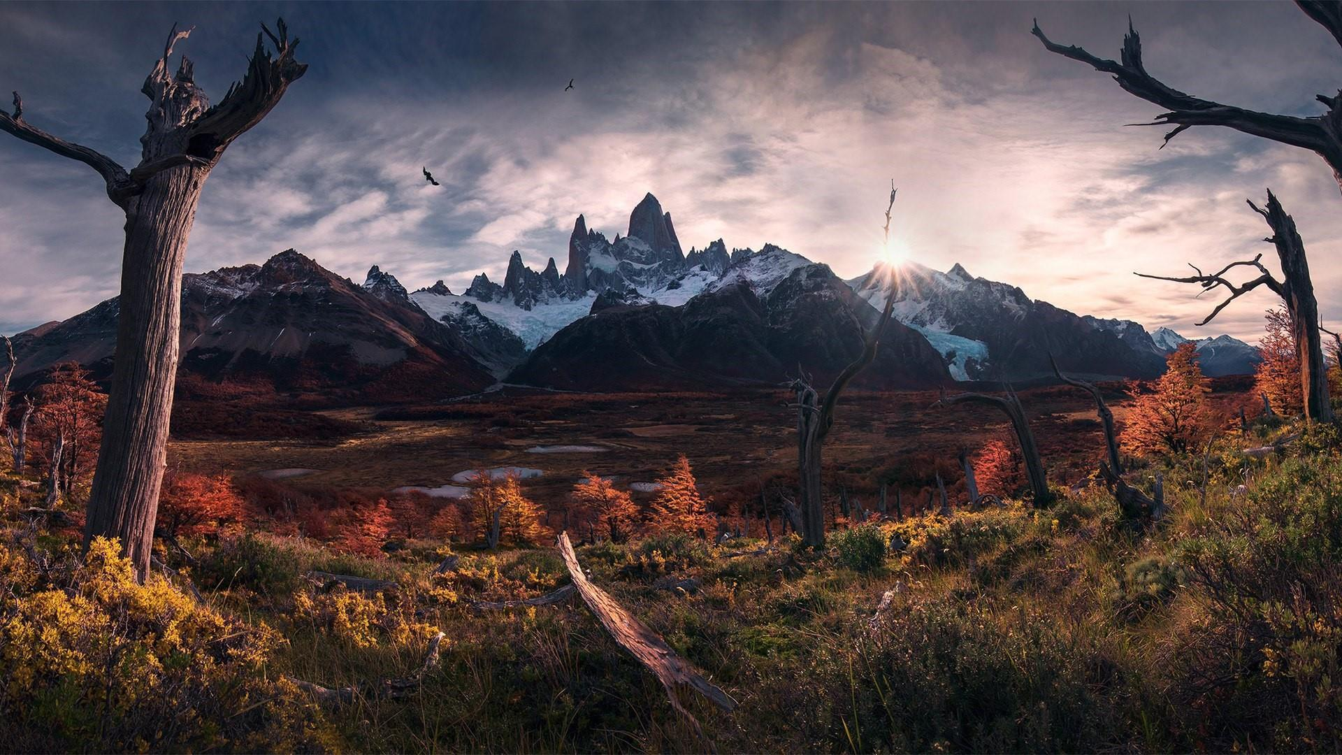 Los Glaciares National Park Fitz Roy Peak