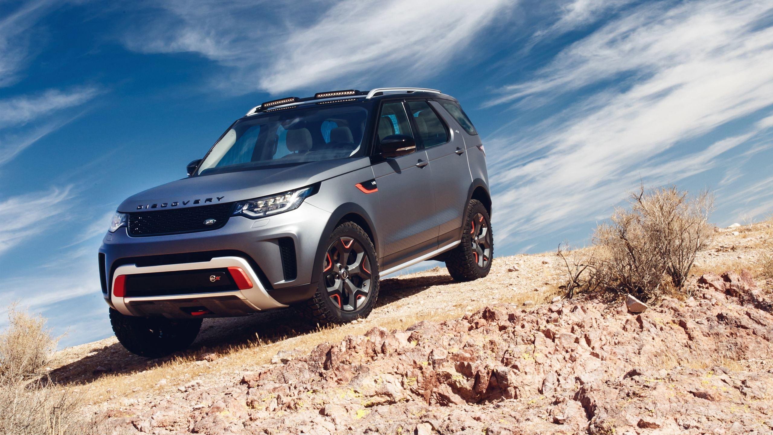 2018 Land Rover Discovery SVX 2 Wallpapers