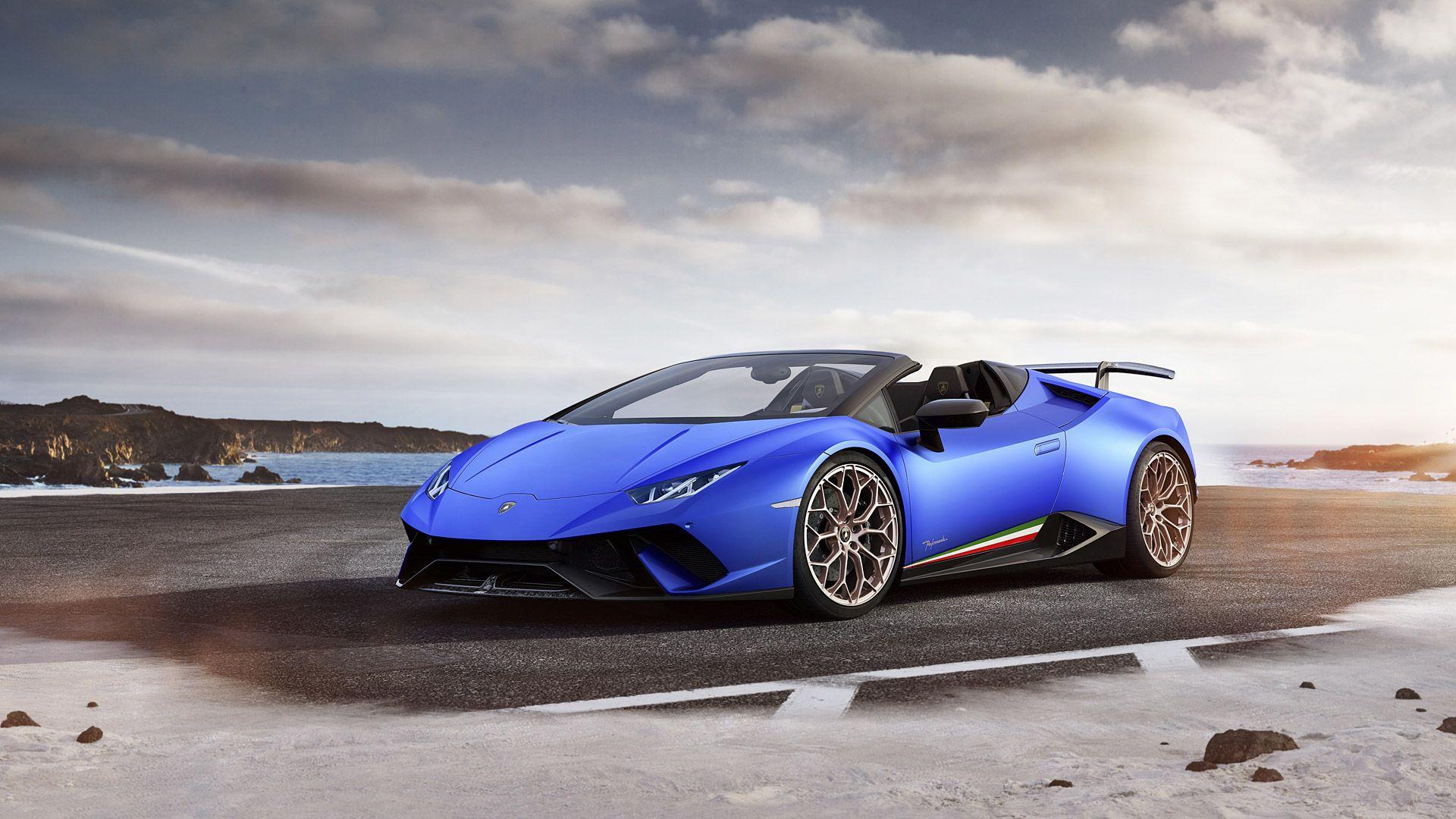 Lamborghini Huracan Spyder Performante Wallpapers Wallpaper Cave