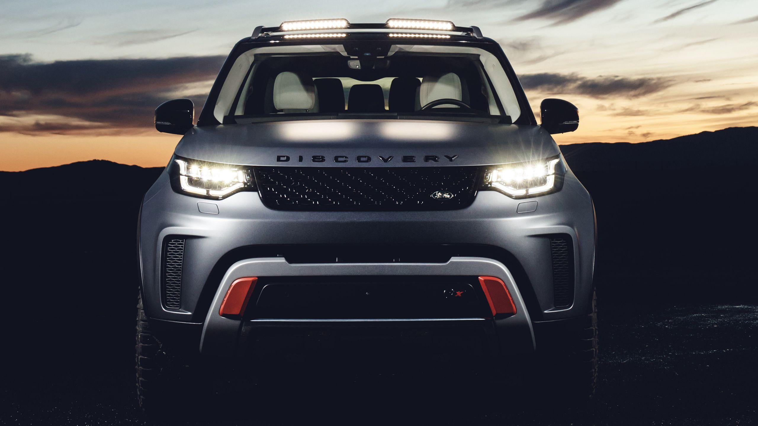 2018 Land Rover Discovery SVX Wallpapers