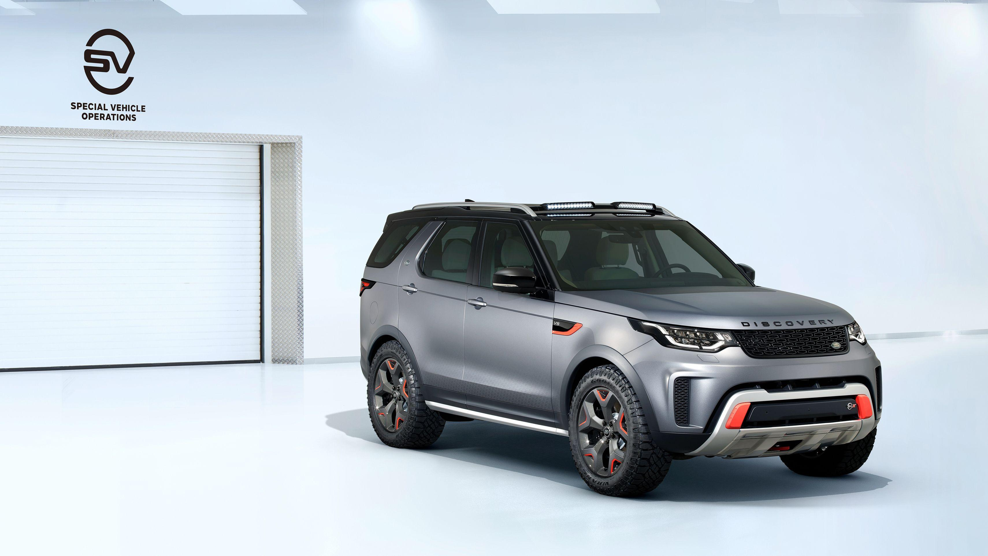 2019 Land Rover Discovery SVX Wallpapers