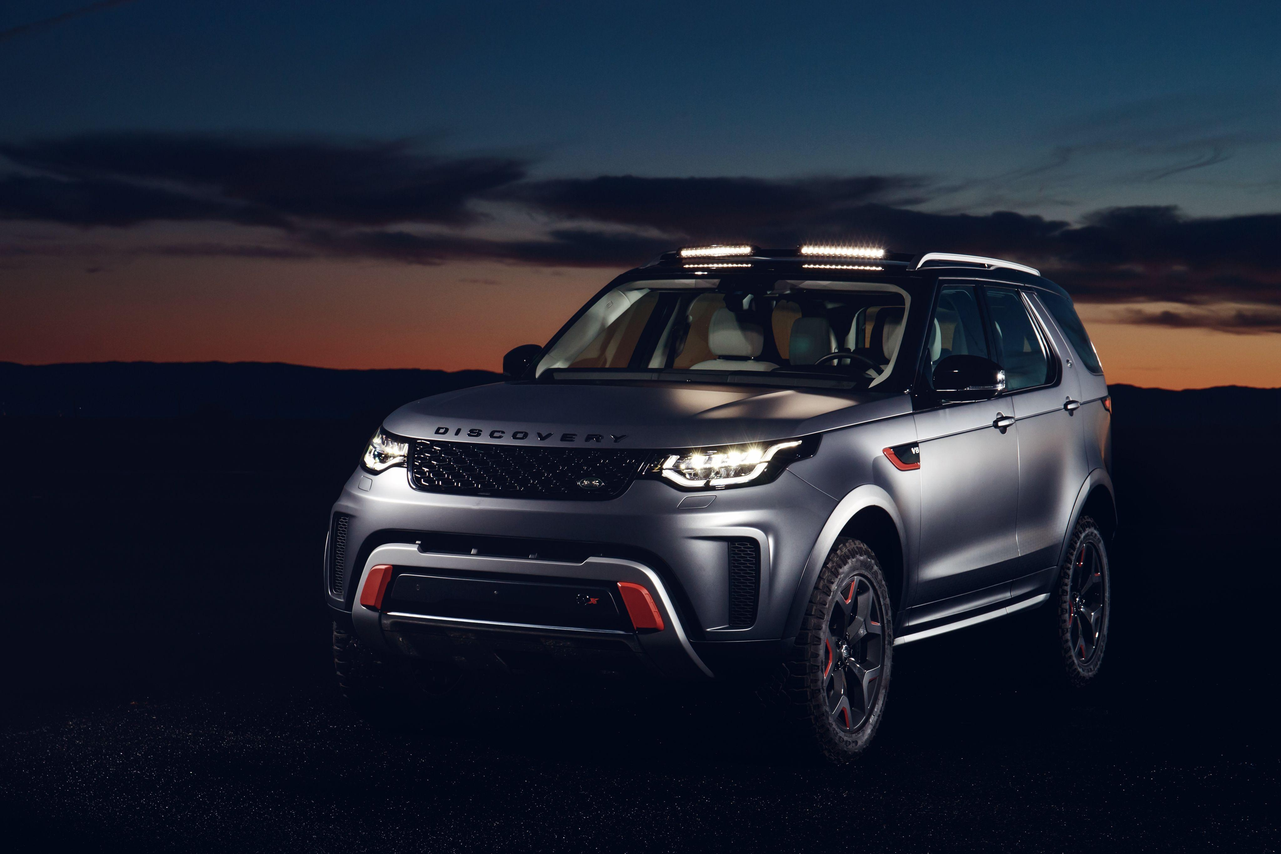 Wallpapers Land Rover Discovery SVX, 2018, 4K, Automotive / Cars,