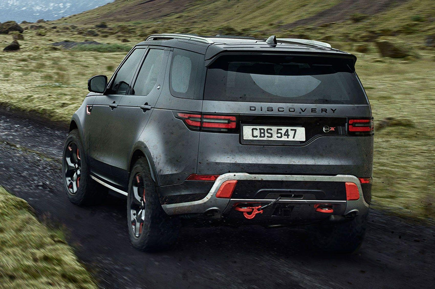 Land Rover Discovery SVX revealed in pictures by CAR Magazine