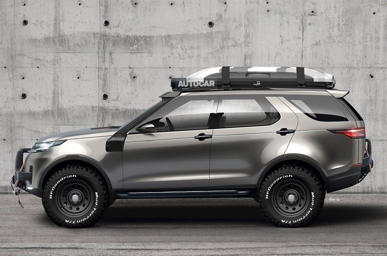 Hot new Land Rover Discovery SVX planned