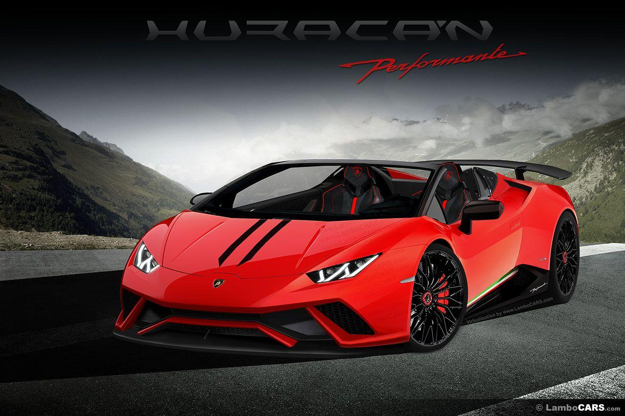 Huracan Superleggera being tested, is the Performante next