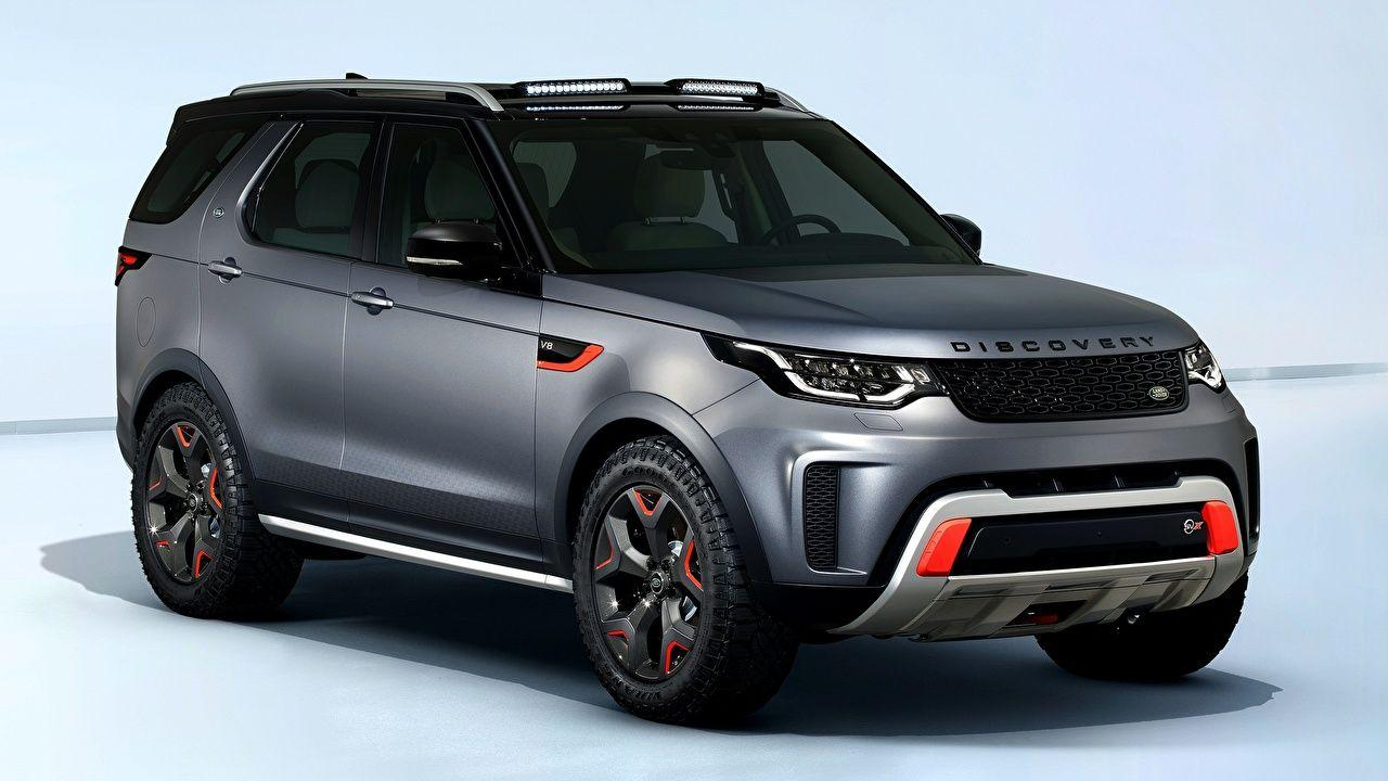 Wallpapers Land Rover SUV Discovery SVX V8 4x4 2017 Cars