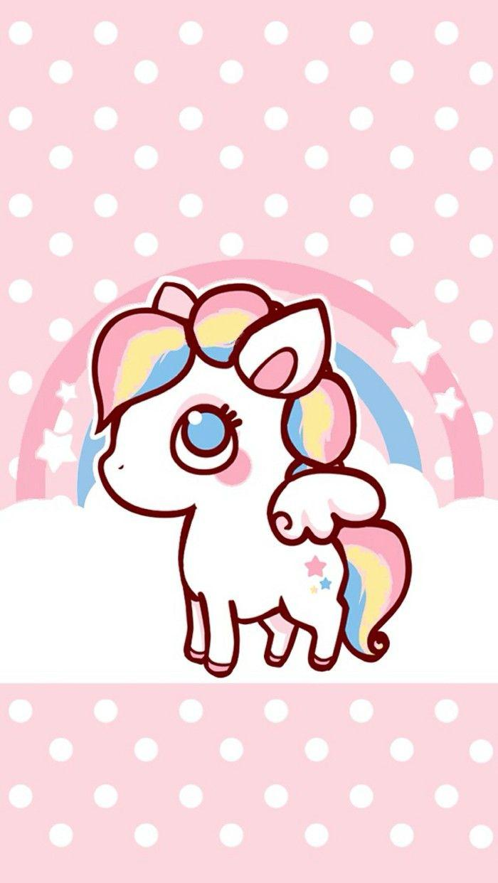 Kawaii Unicorn Wallpapers Wallpaper Cave