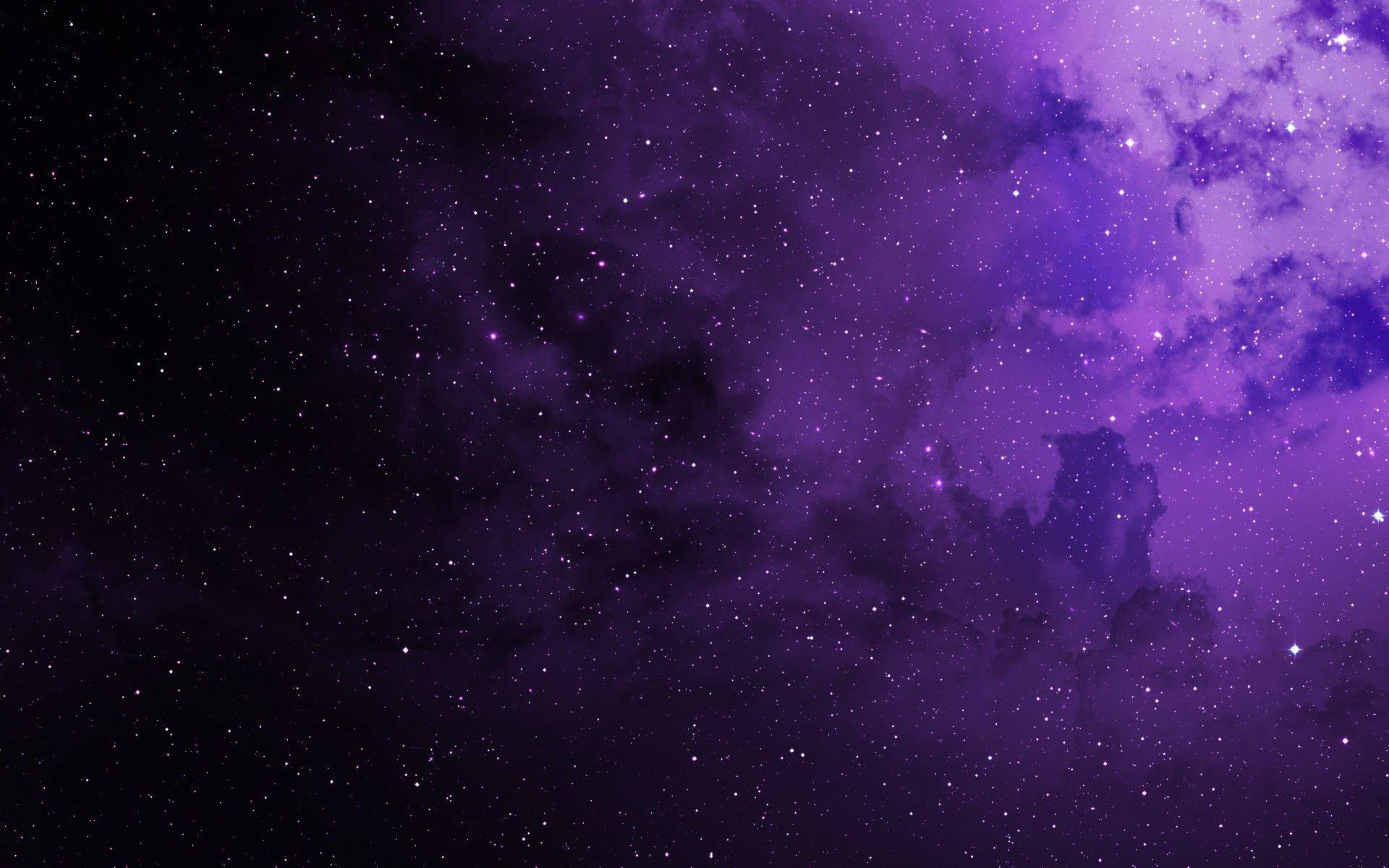 Wallpaper Stars, Purple, Cosmos, HD, Space, #7172
