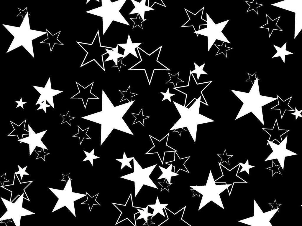 Stars images Black and white stars HD wallpaper and background ...