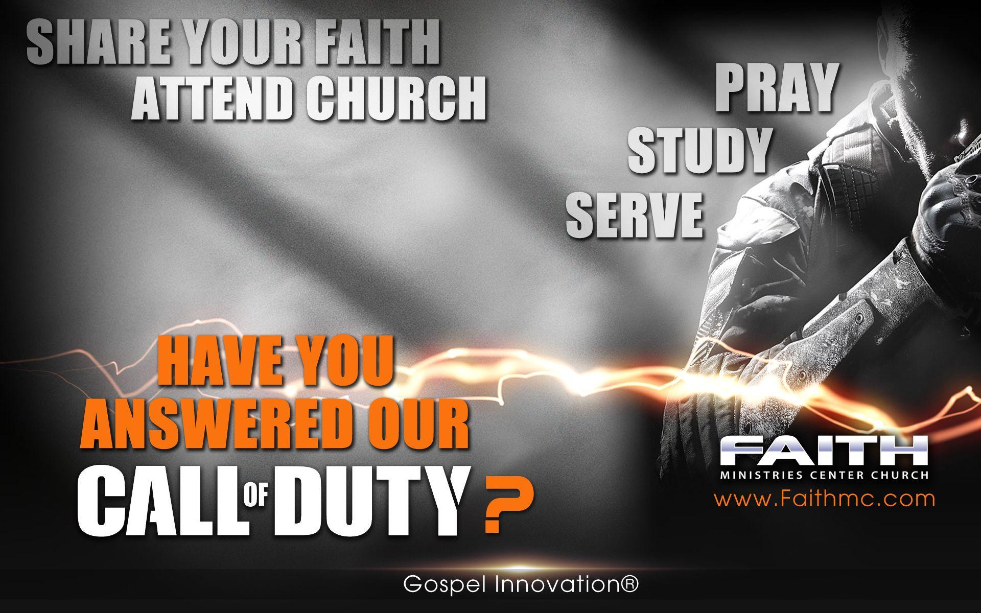 Our Call Of Duty Gospel Wallpaper