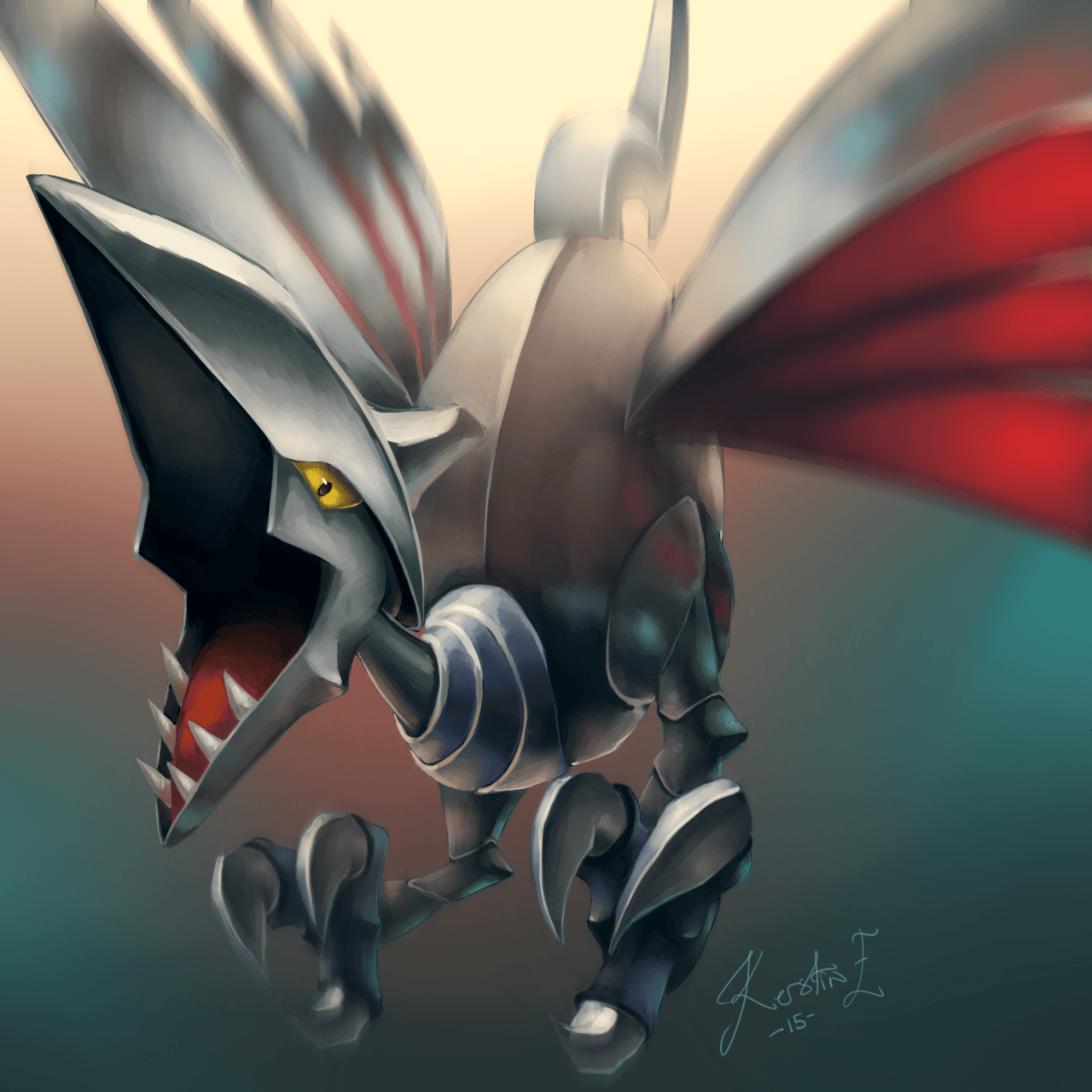 Skarmory. One of Brandon's strong pokemon | Kalos trainers ...