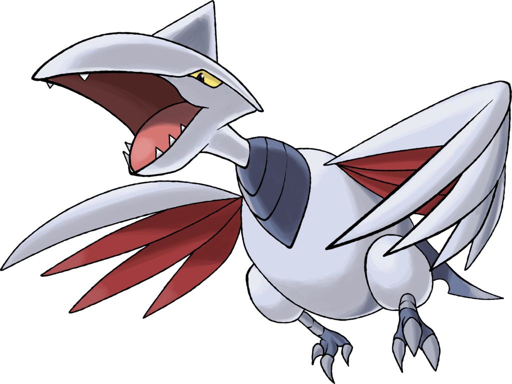 Skarmory |Day 7 by TheAngryAron on DeviantArt