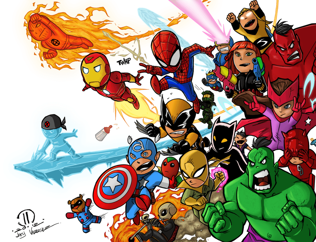 Baby Avengers Wallpapers Wallpaper Cave