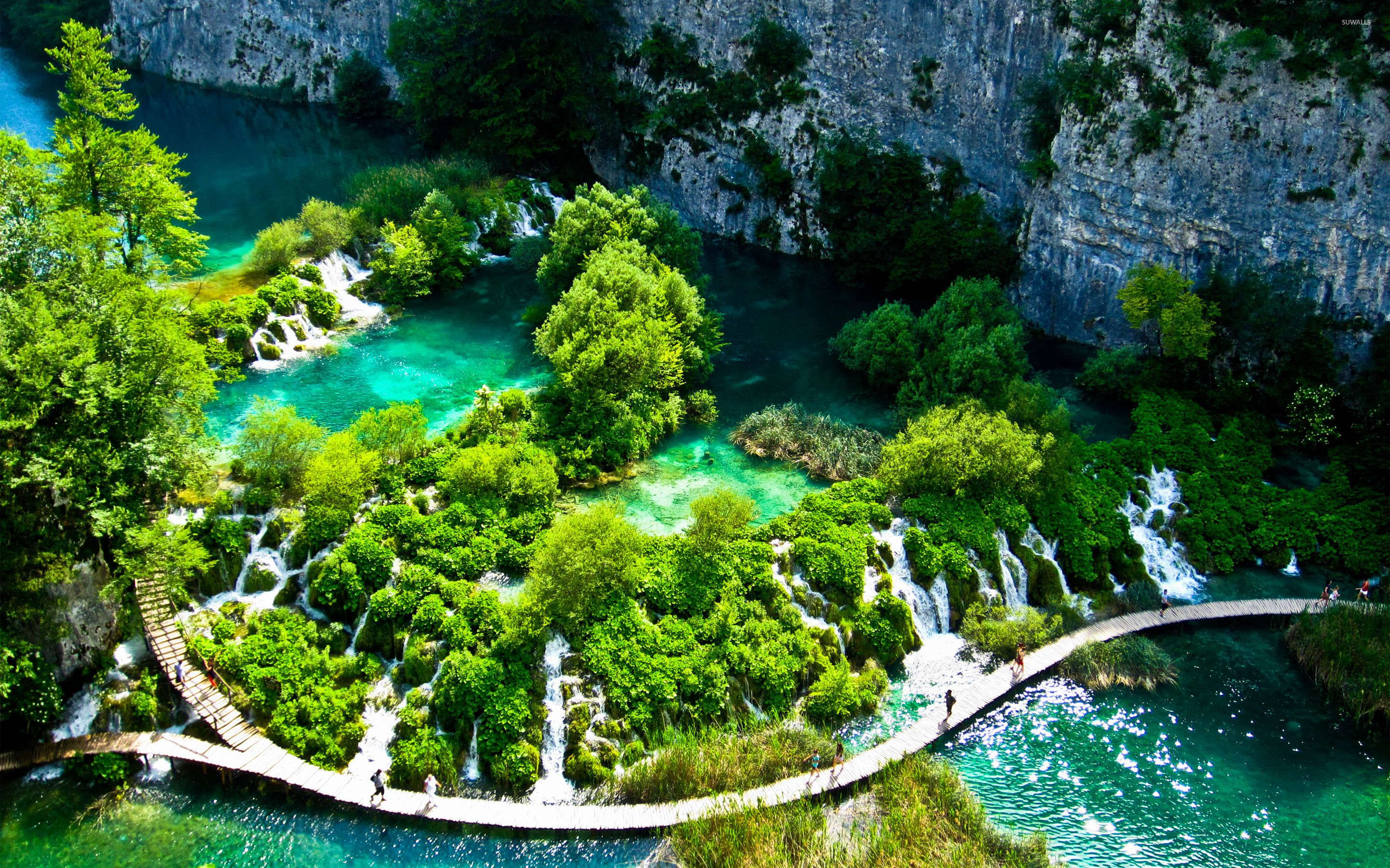 Plitvice Lakes National Park [3] wallpapers