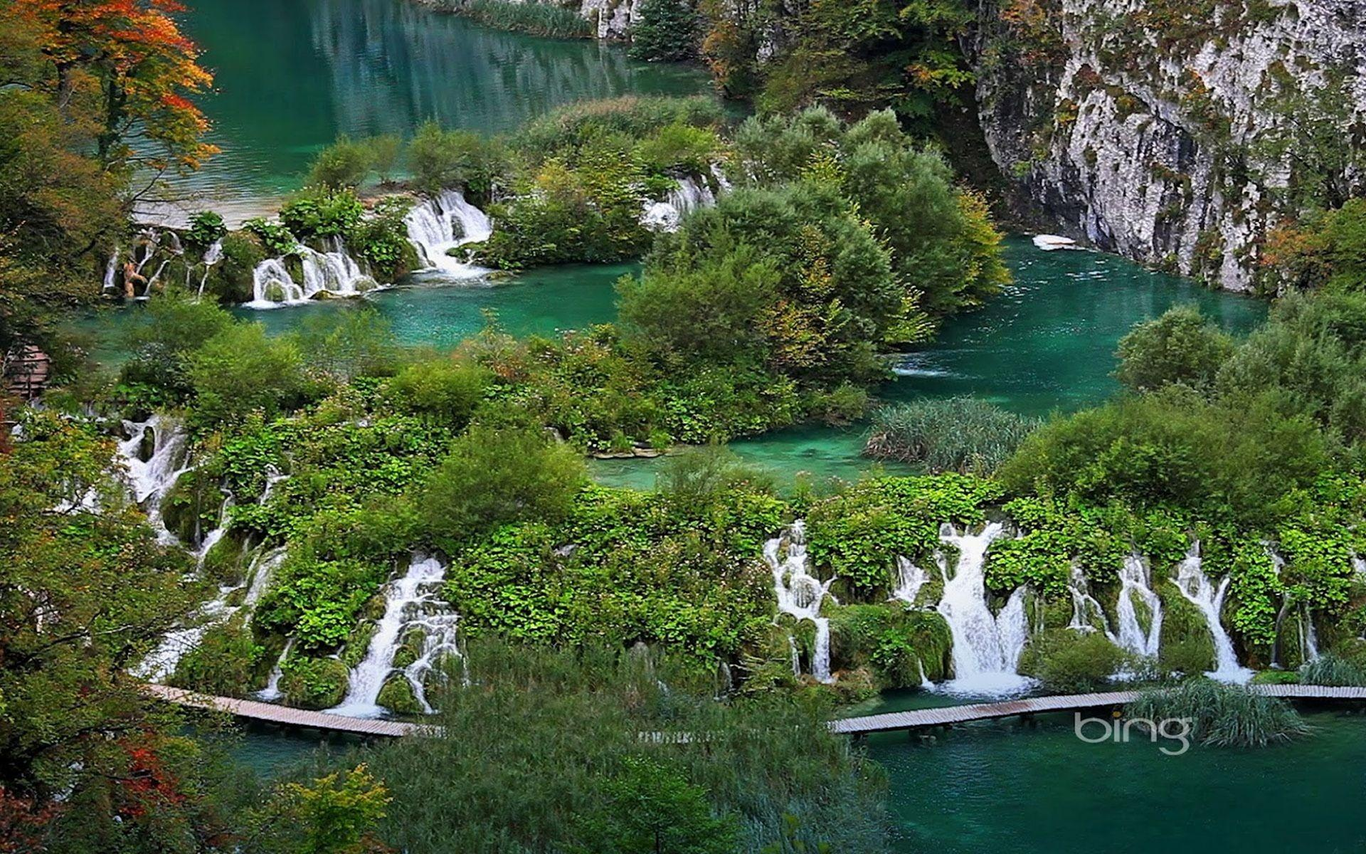 Plitvice Lakes National Park Croatia Best Wallpapers 27353