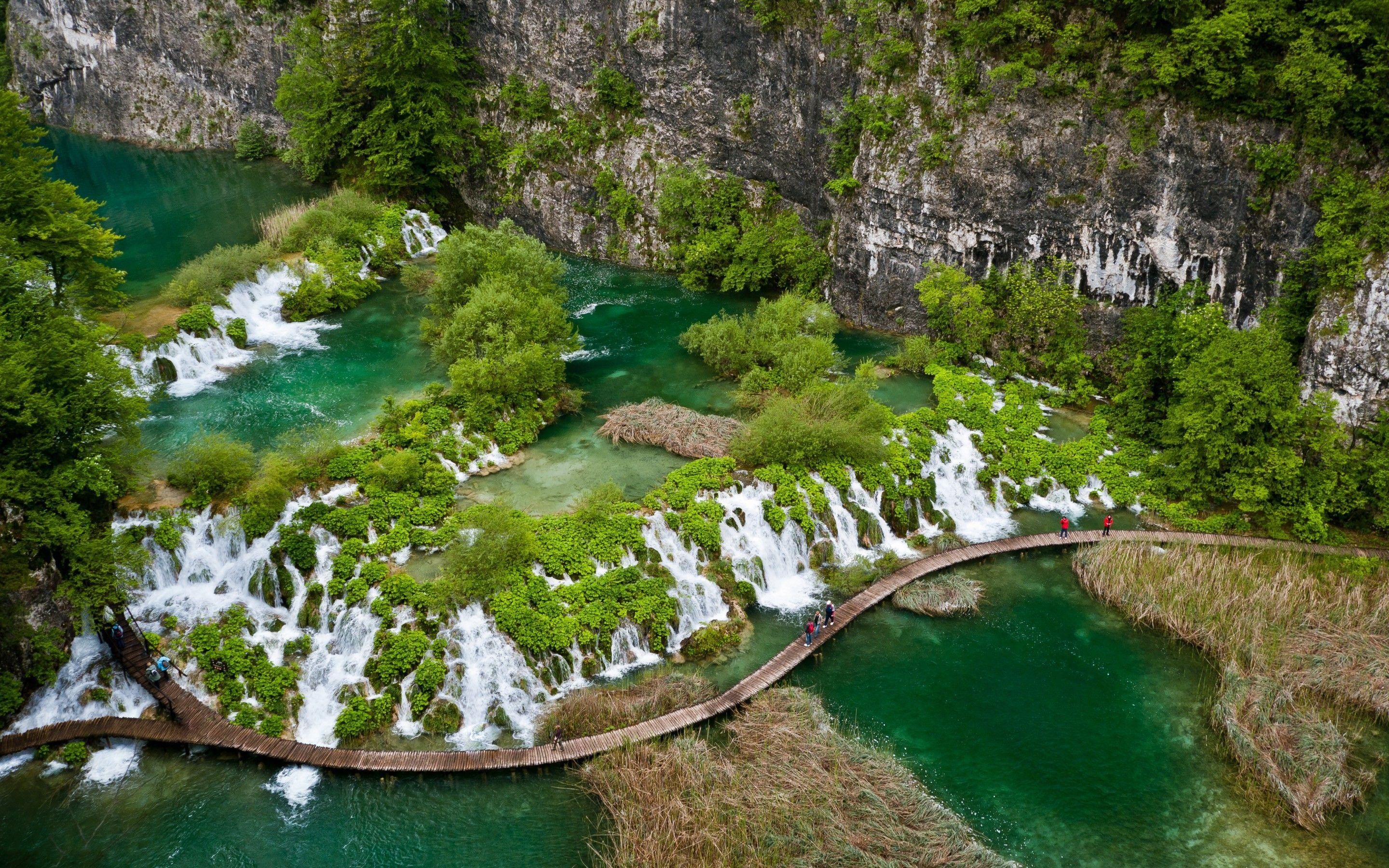 Croatia, Plitvice Lakes, National park wallpapers