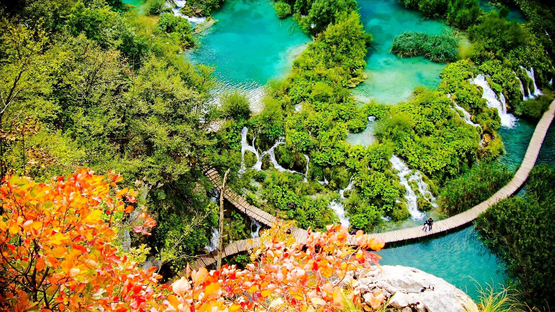 Another aspect of Croatia, the Plitvice Lakes
