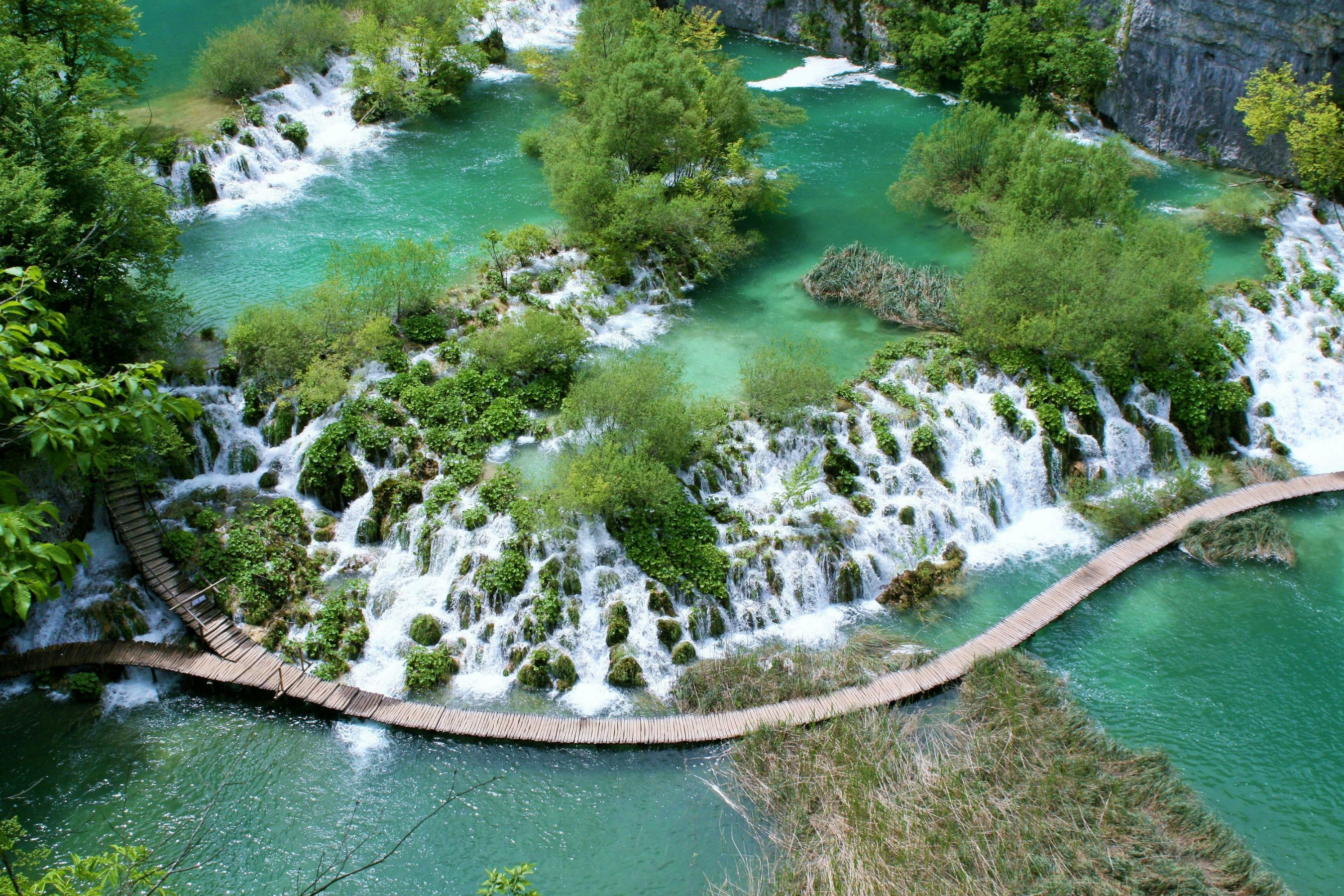 Plitvice Lakes National Park, travel wallpapers