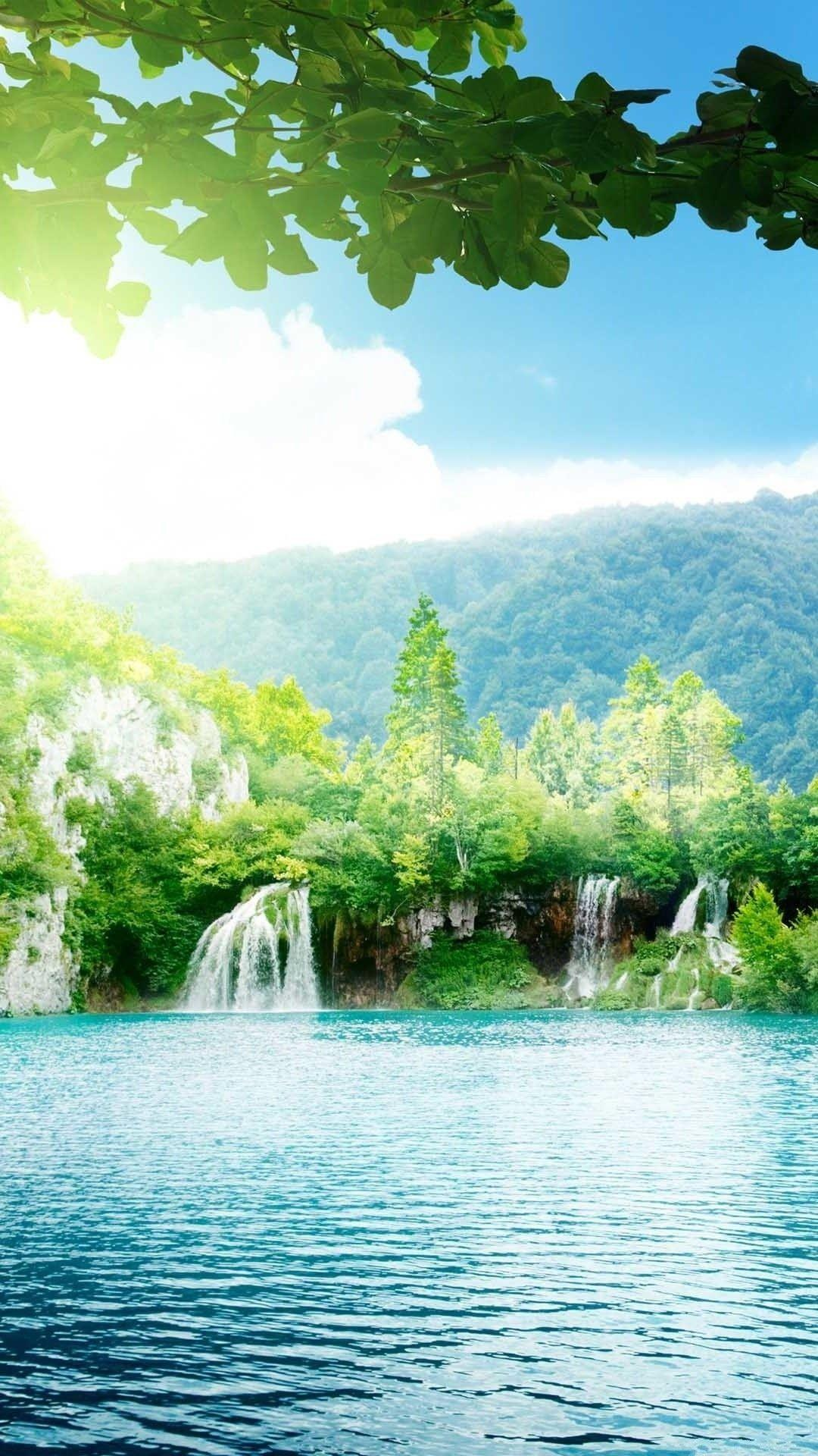 Widescreen Plitvice Lakes National Park Mobile With Hd Nature