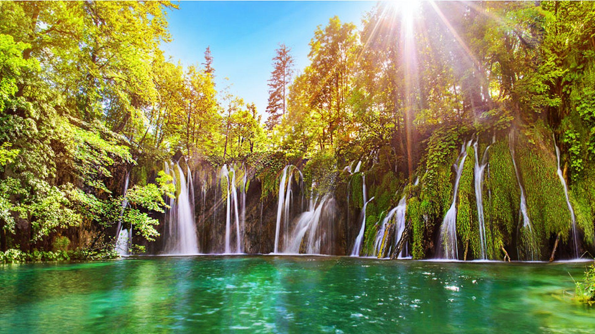 Plitvice Lakes National Park Croatia Wallpapers 27361