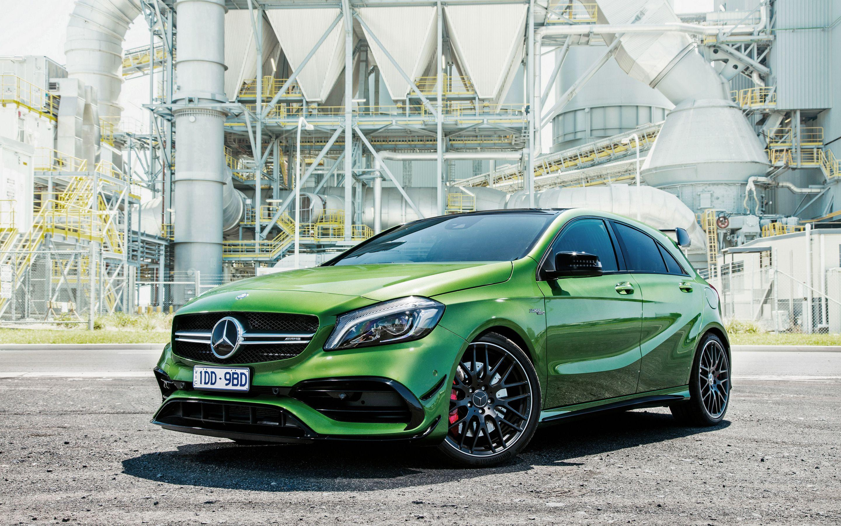 2016 Mercedes Benz A Class A45 AMG 4Matic Wallpapers