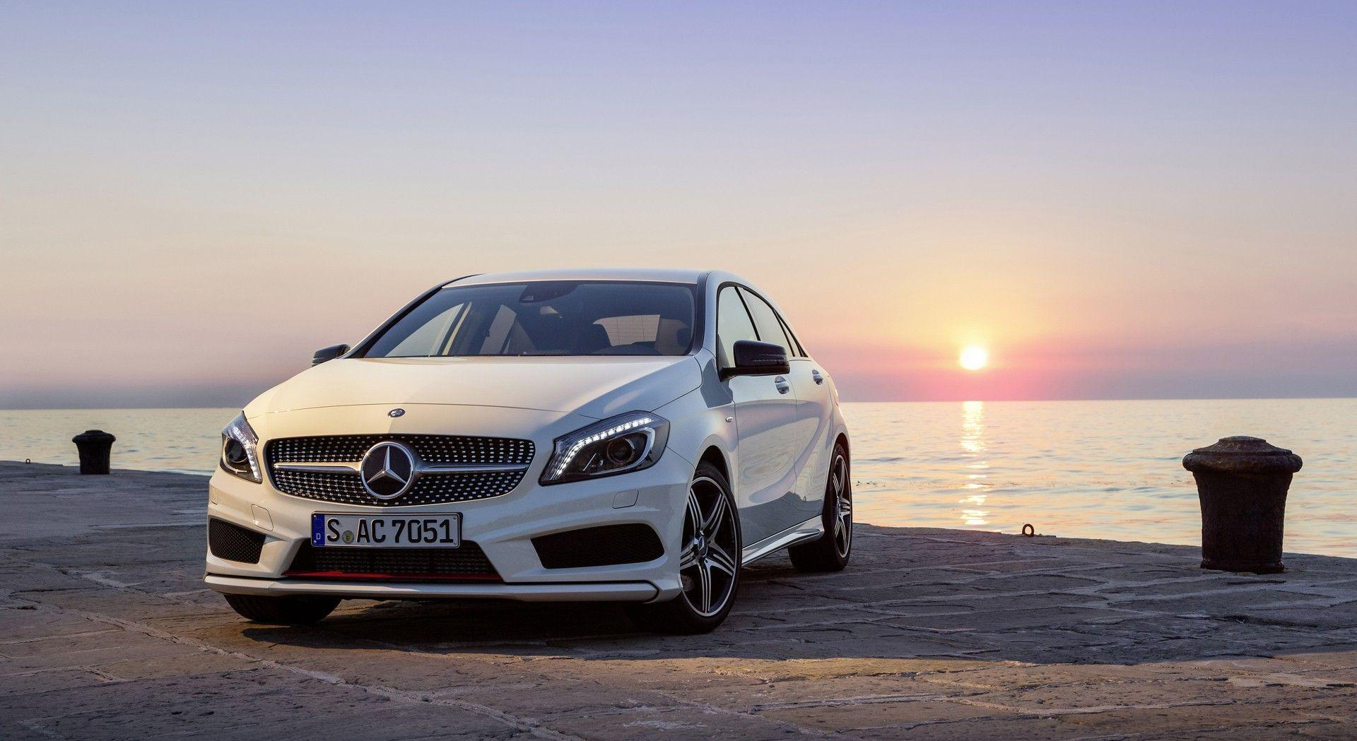 mercedes a class wallpapers