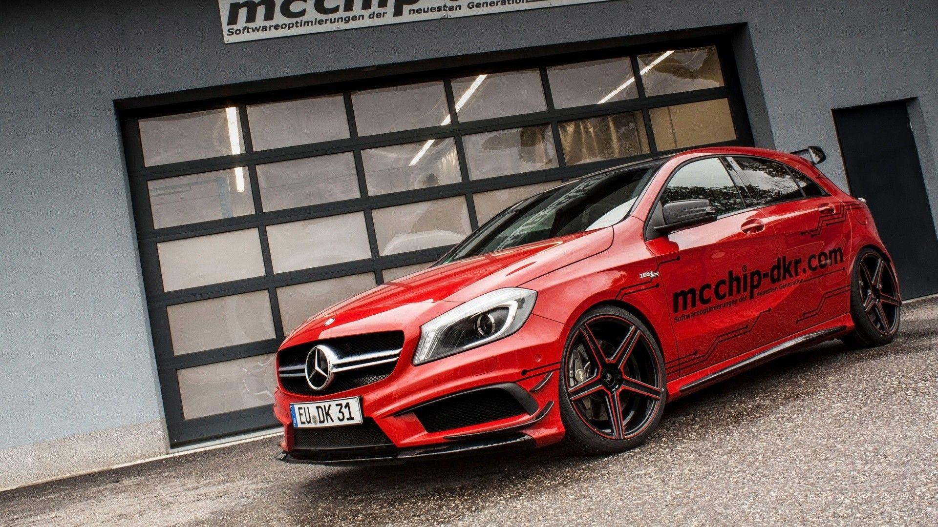 car, Mercedes Benz, GLA 45 AMG, Red Cars Wallpapers HD / Desktop and