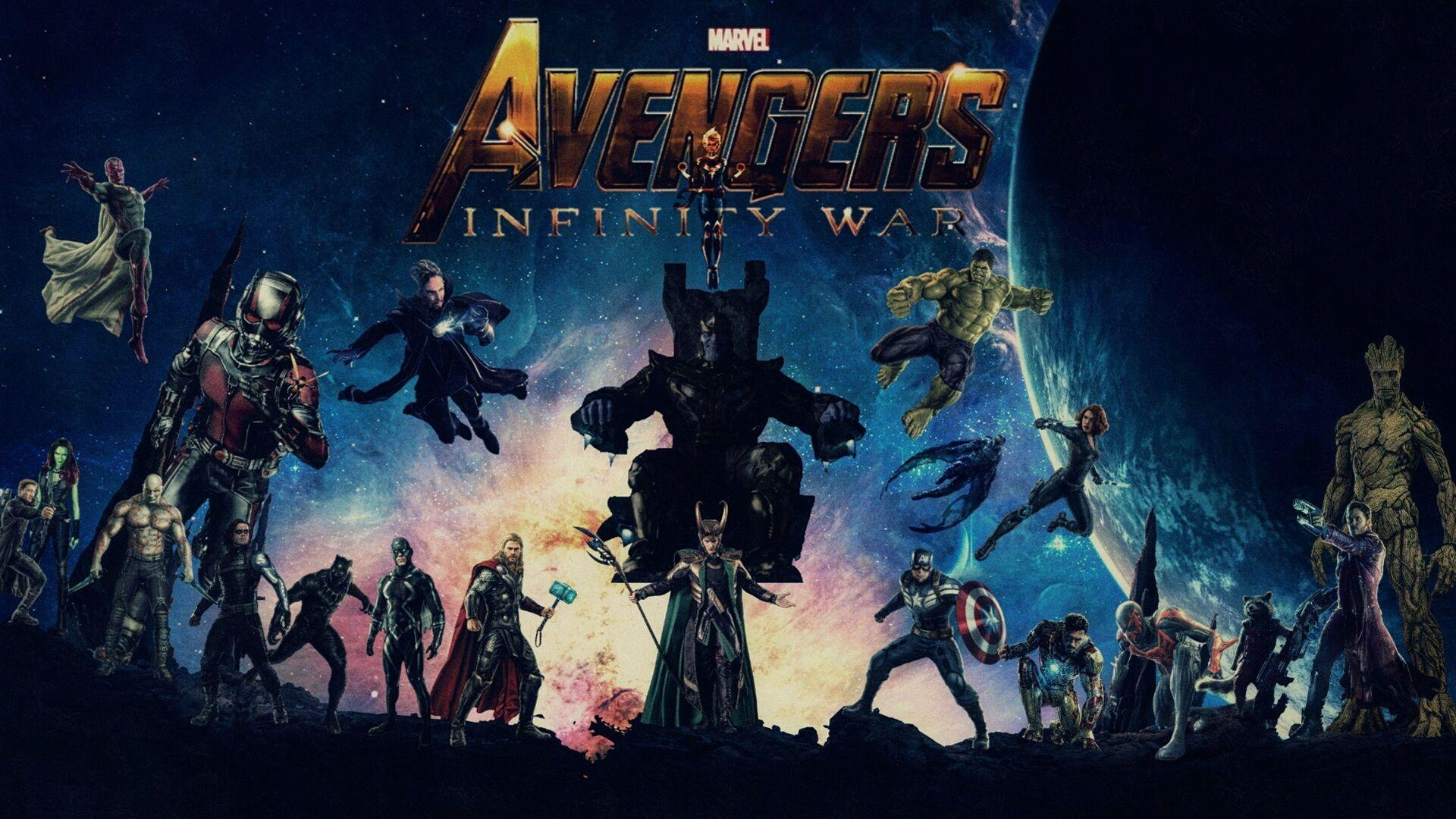 Avengers Infinity War Cast Wallpapers 27146