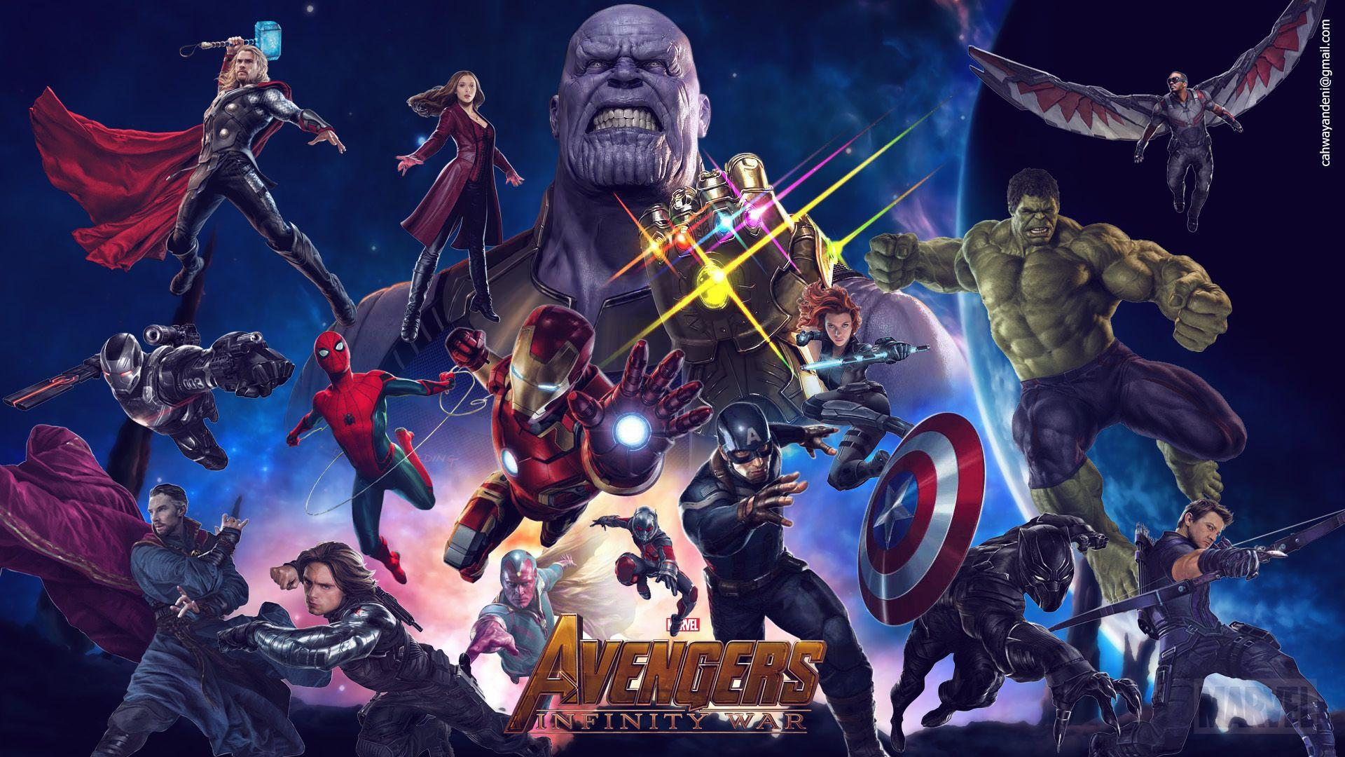 Avengers Infinity War 2018 Movie Superheroes Wallpapers and