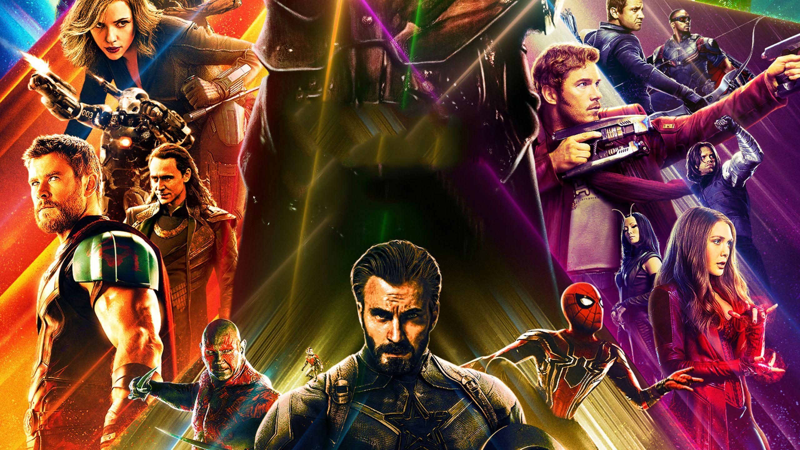 2560x1440 Avengers Infinity War Artwork 2018 HD 1440P Resolution HD