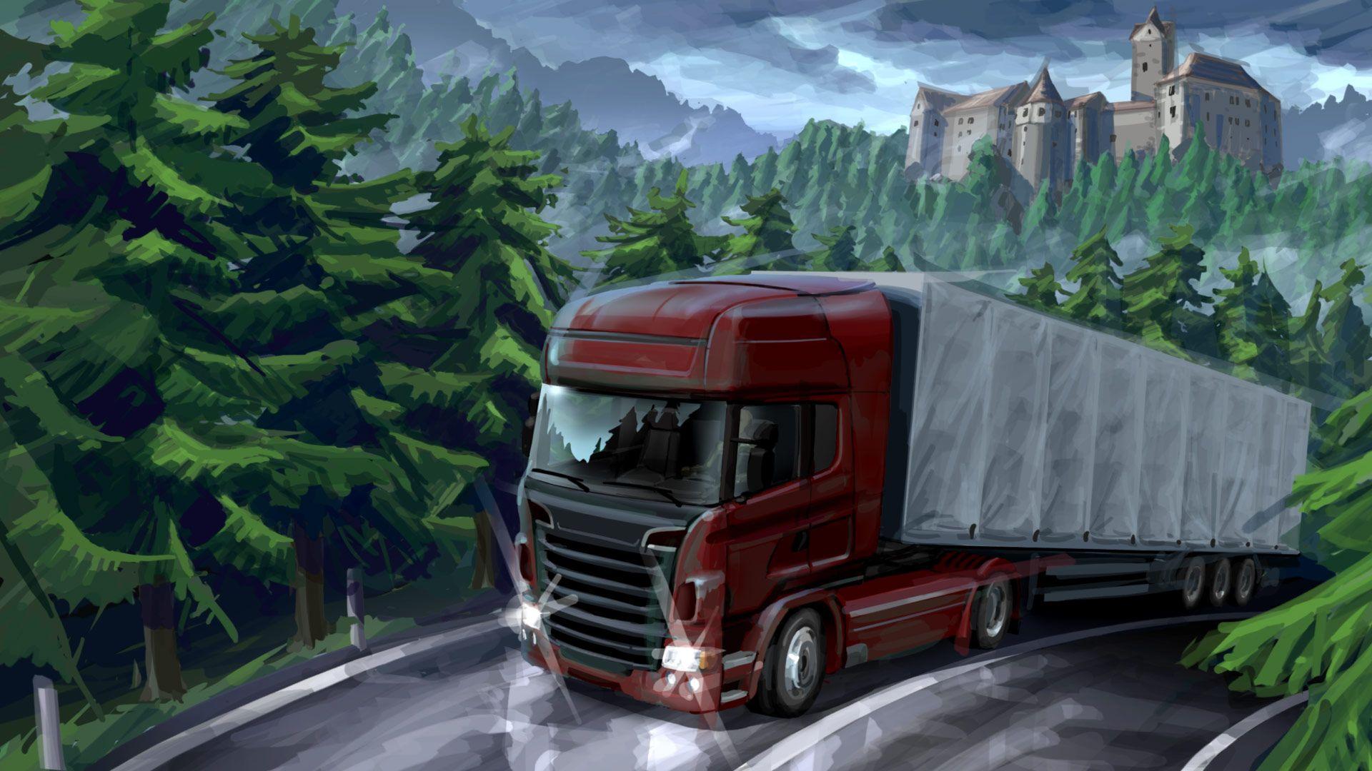 عکس بازی یورو تراک سیمولاتور 2