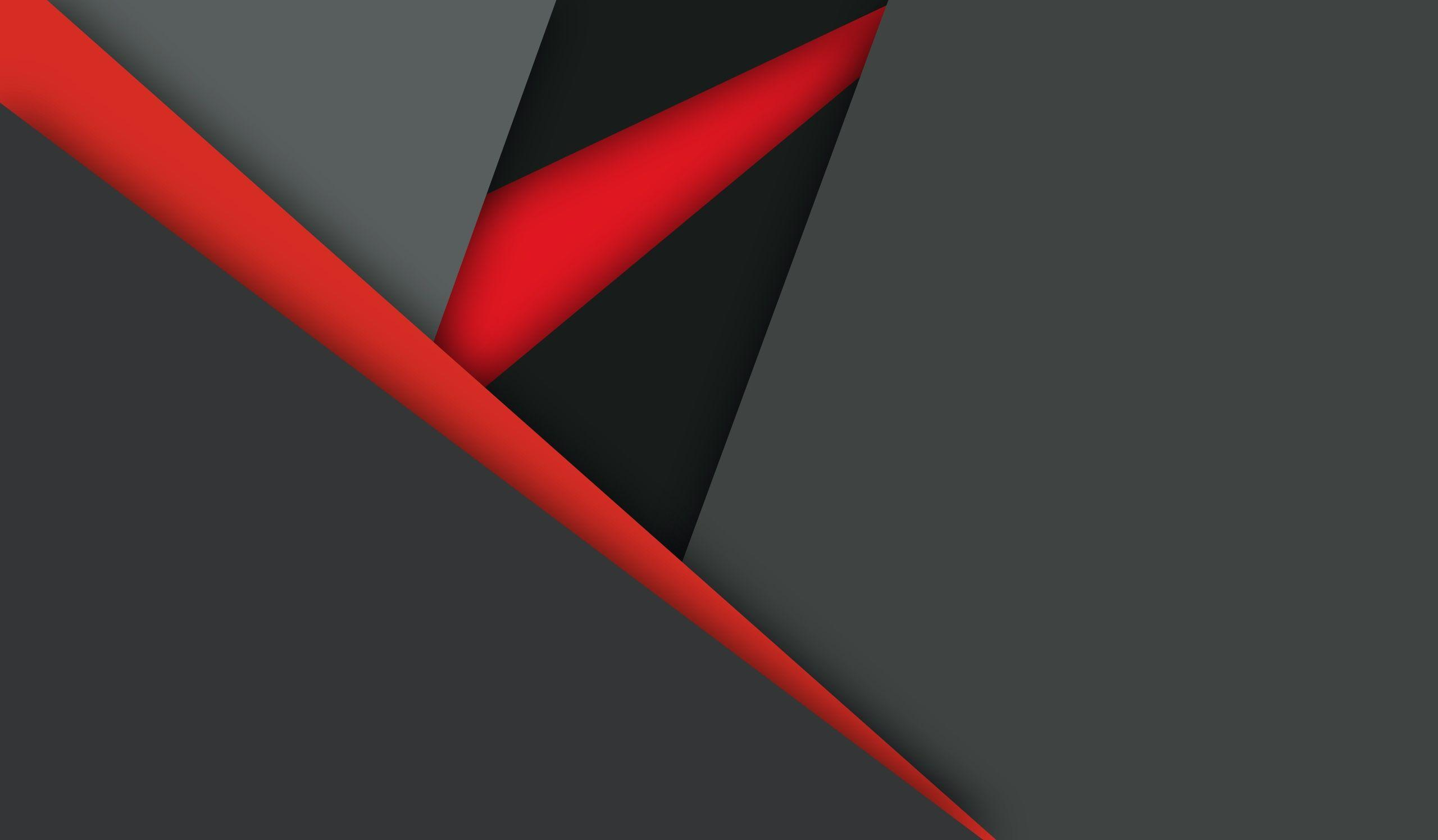Material Design Dark Red Black, HD Abstract, 4k Wallpapers, Image