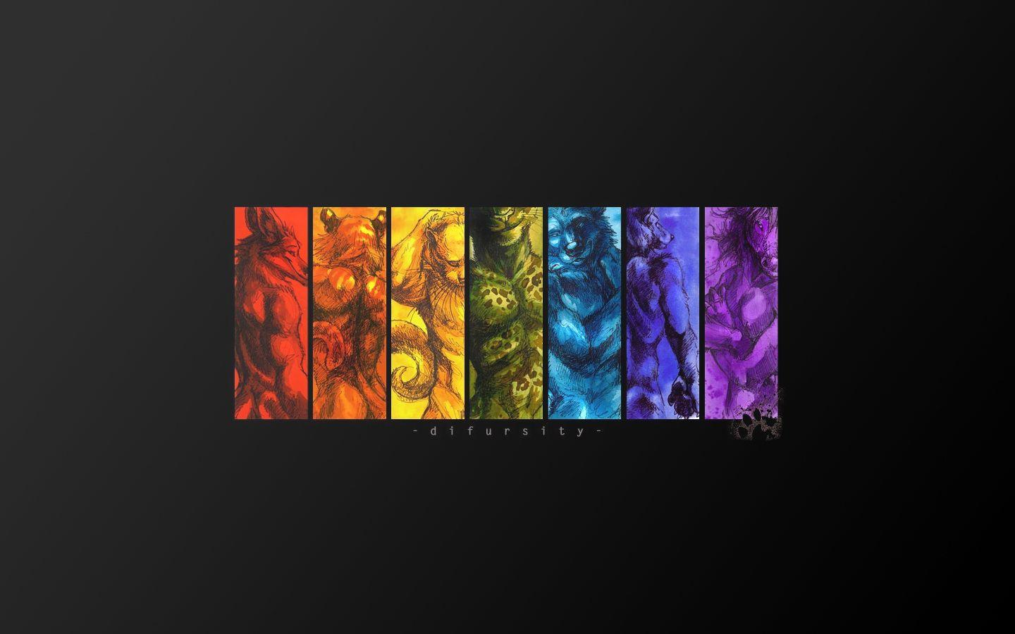 Gay Furry Pride Wallpapers