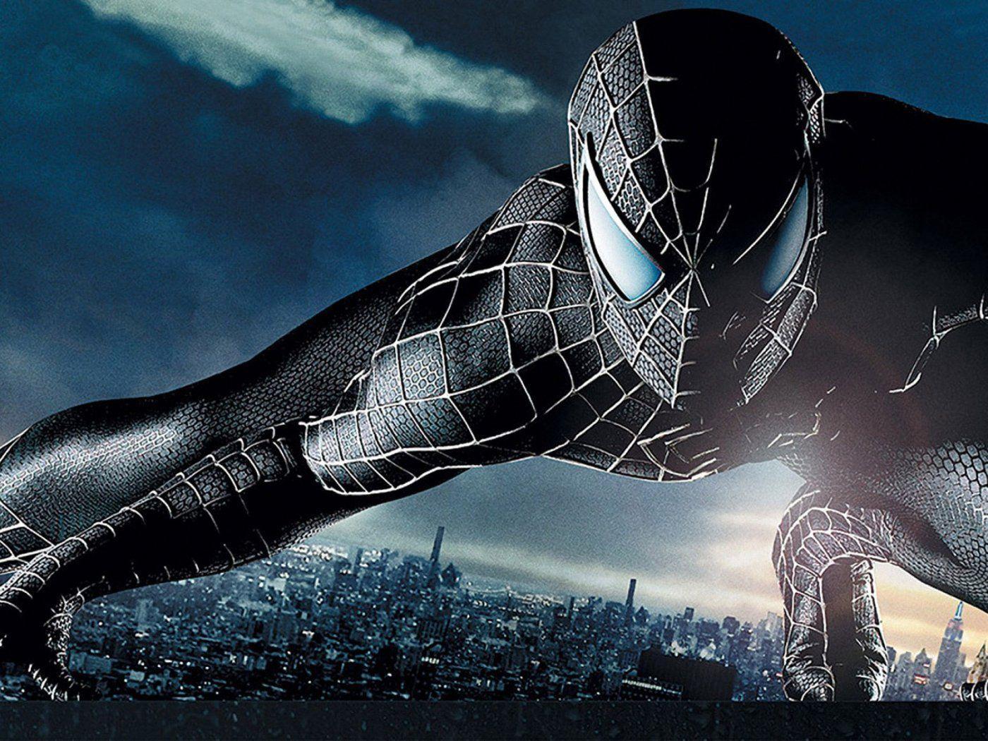 Spiderman 3 Black Suit Wallpapers Wallpaper Cave