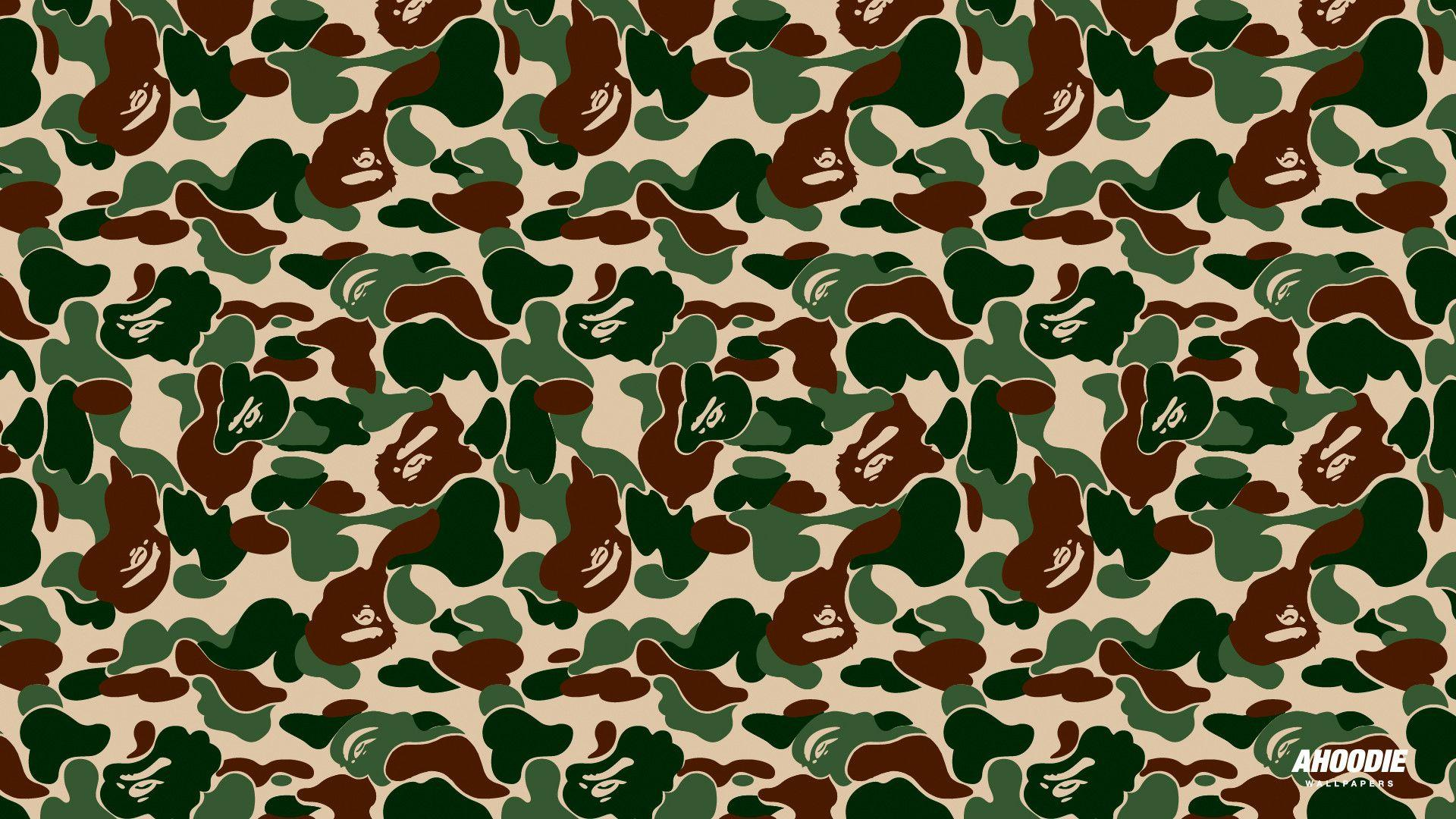 Bathing Ape Camo Wallpapers Wallpaper Cave
