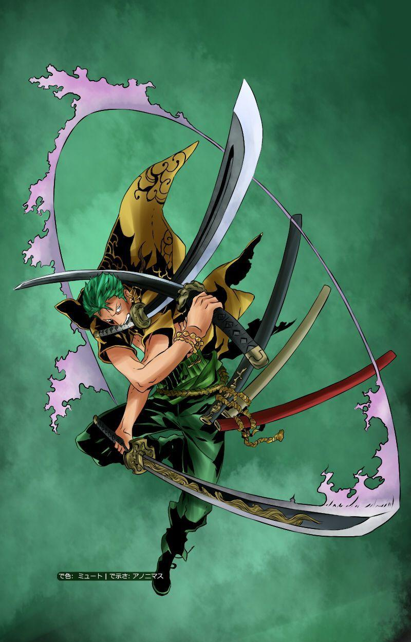 One Piece Zoro Hd Mobile Wallpaper