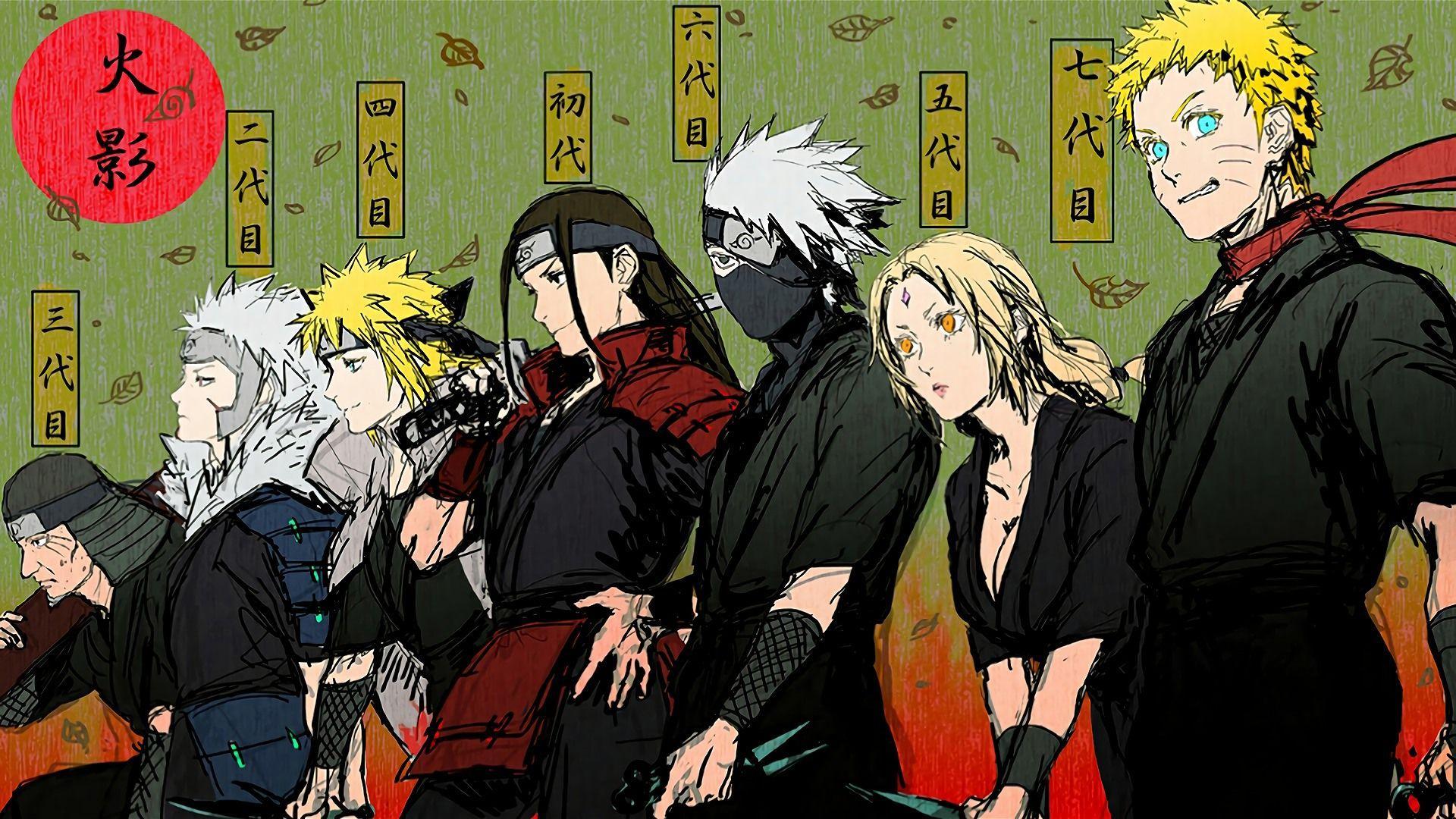 Naruto Hokage Wallpapers HD - Wallpaper Cave