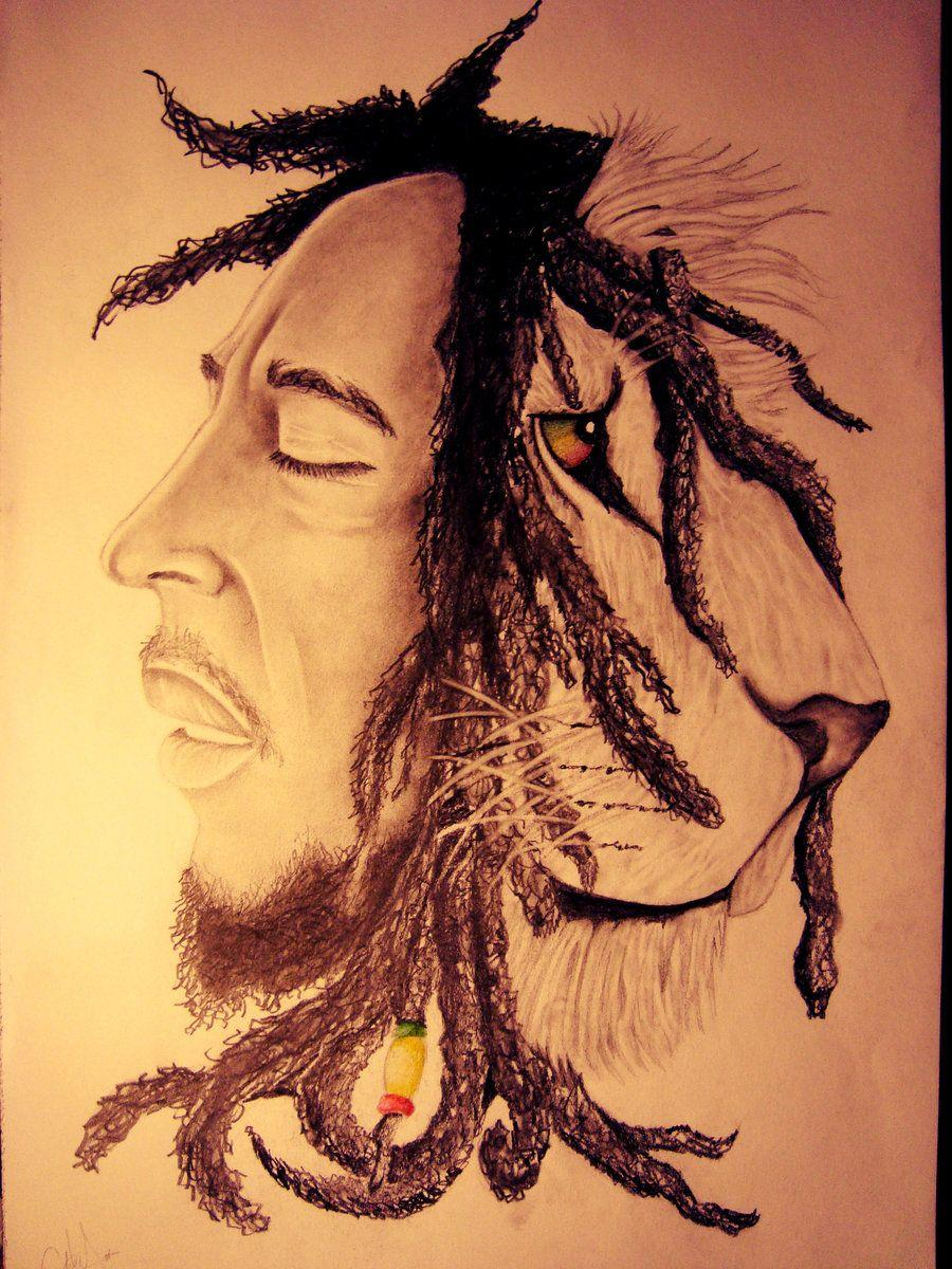 Bob Marley Lion Wallpapers Wallpaper Cave