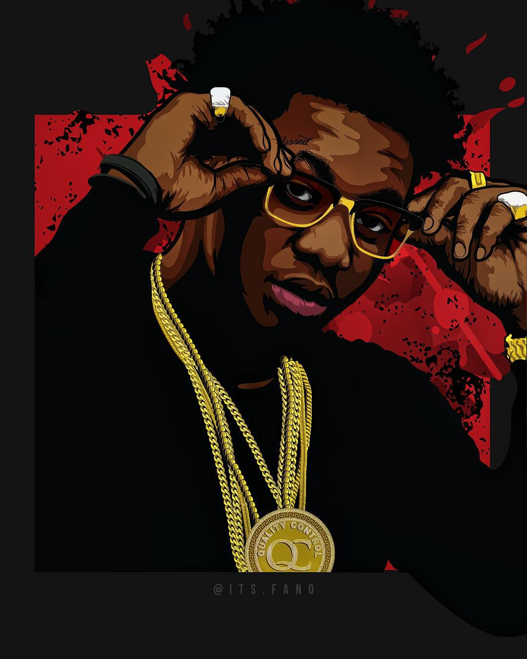offset migos art | Fano! | Pinterest | Dope wallpapers, Devian art ...