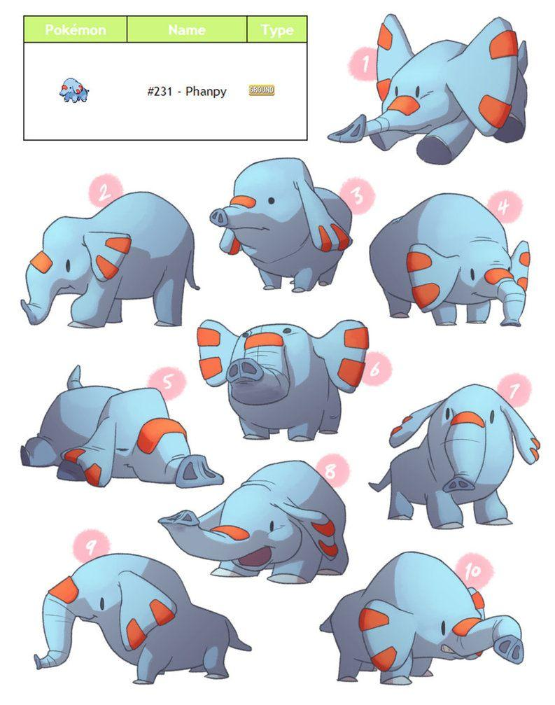 PokeDesign - Phanpy by TheAmoebic on DeviantArt