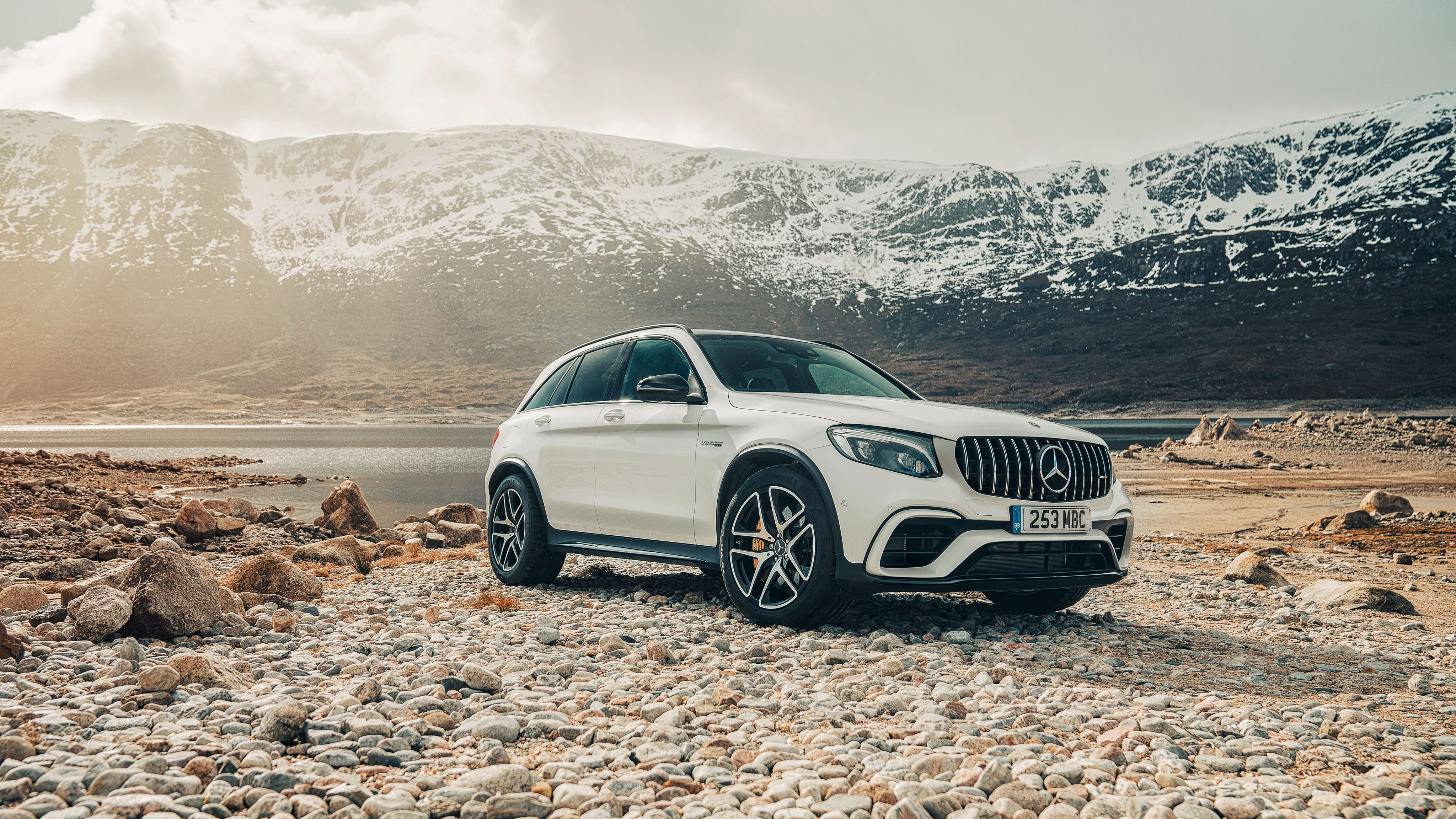 2018 Mercedes AMG GLC 63 S 4MATIC 4K Wallpapers