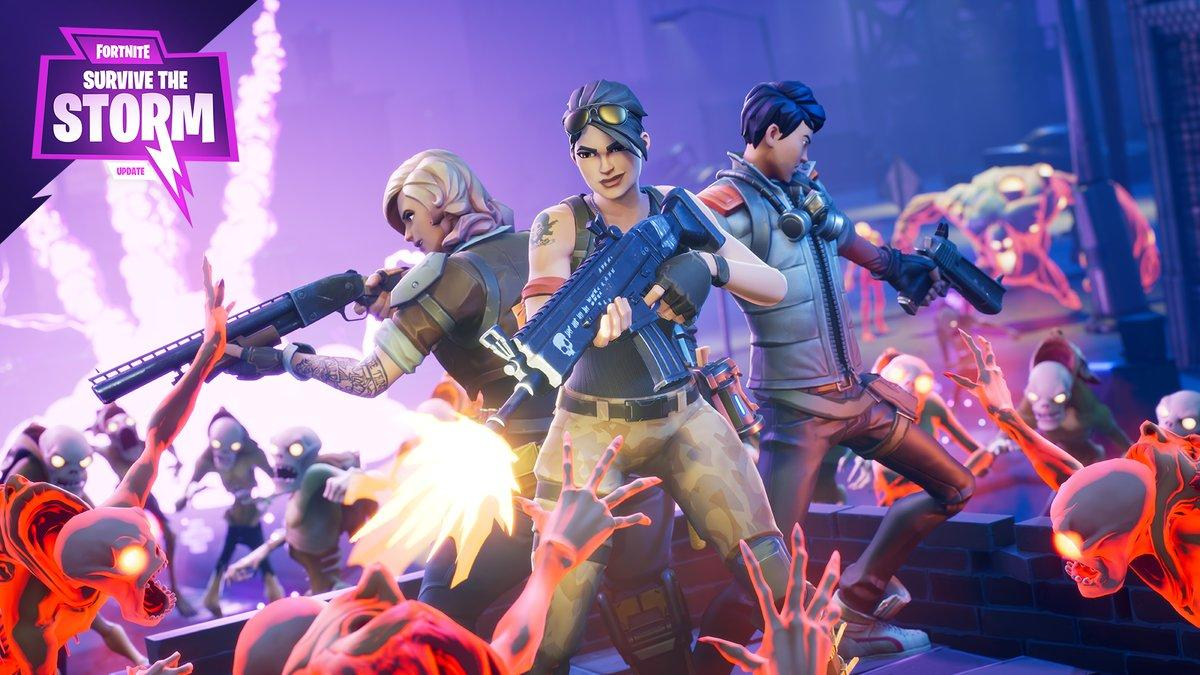 Fortnite on Twitter: Who's in your Survive the Storm squad? @ your