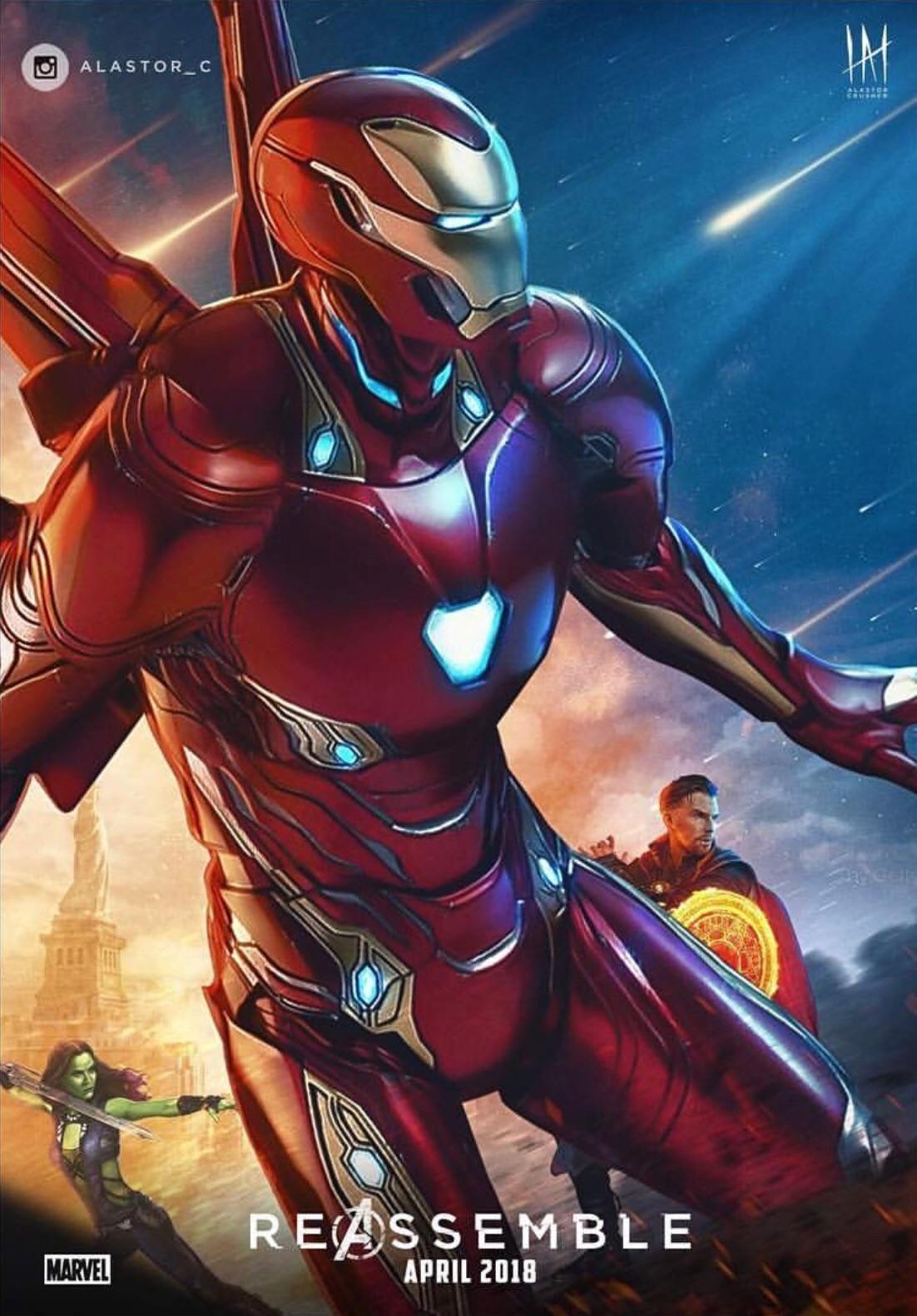 Iron man infinity war wallpapers wallpaper cave for Sfondi iron man