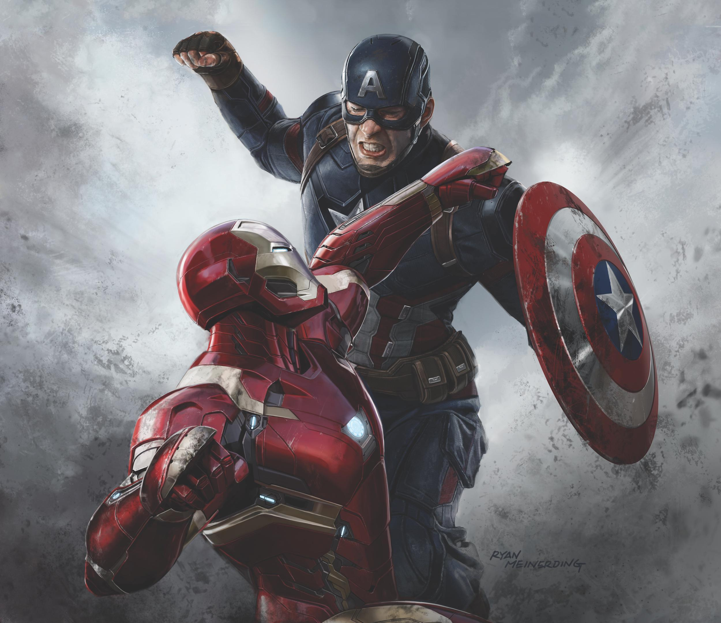 captain america vs iron man wallpaper  Iron Man Vs Captain America Wallpapers - Wallpaper Cave