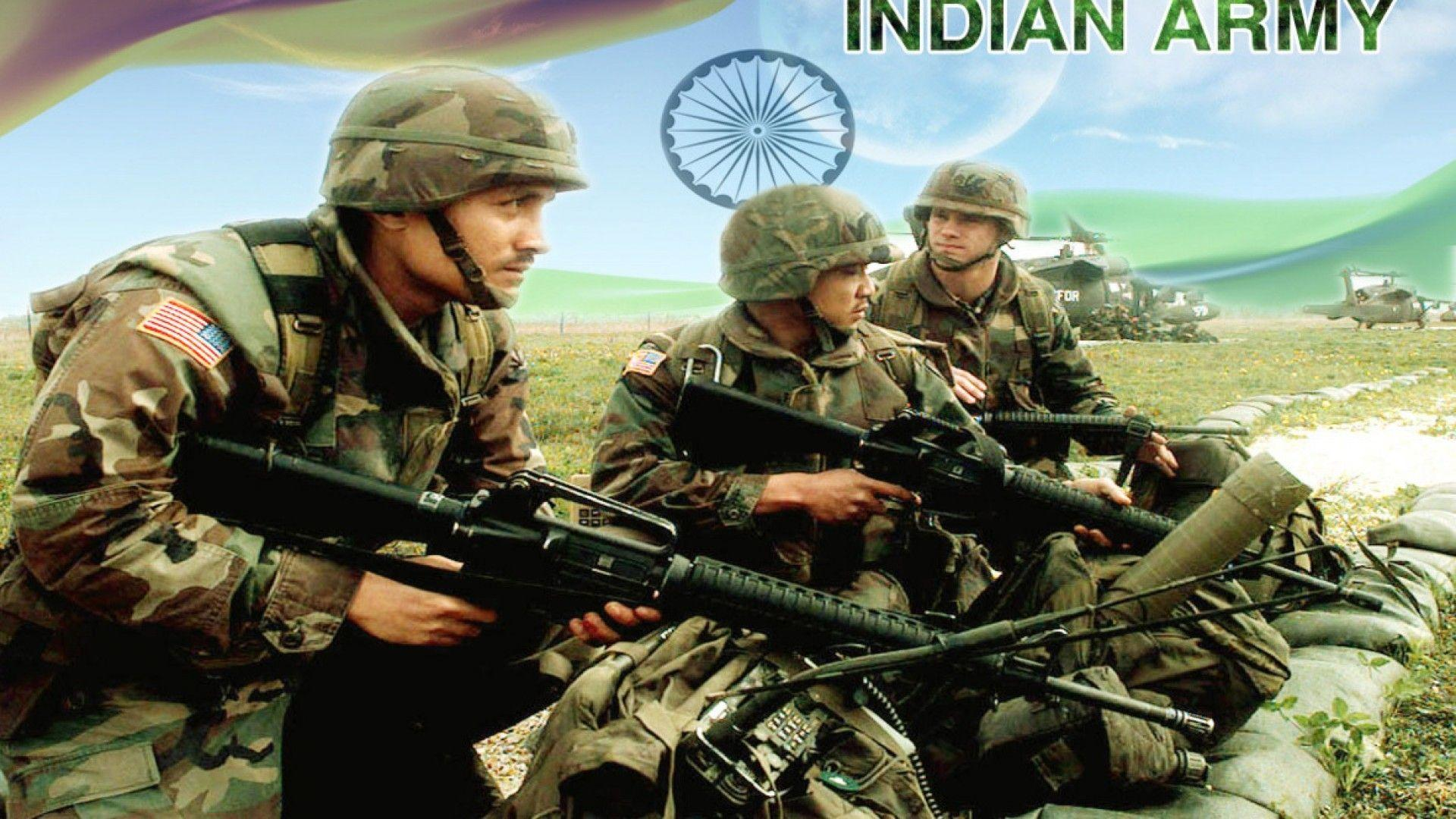 Indian Army Wallpapers Hd For Desktop Wallpaper Cave