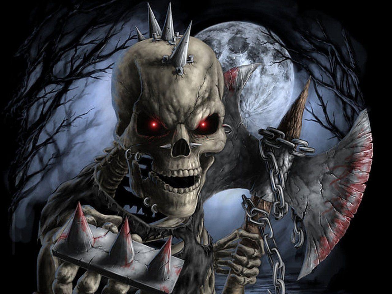 Horror skeleton wallpapers wallpaper cave - Skeleton wallpaper ...