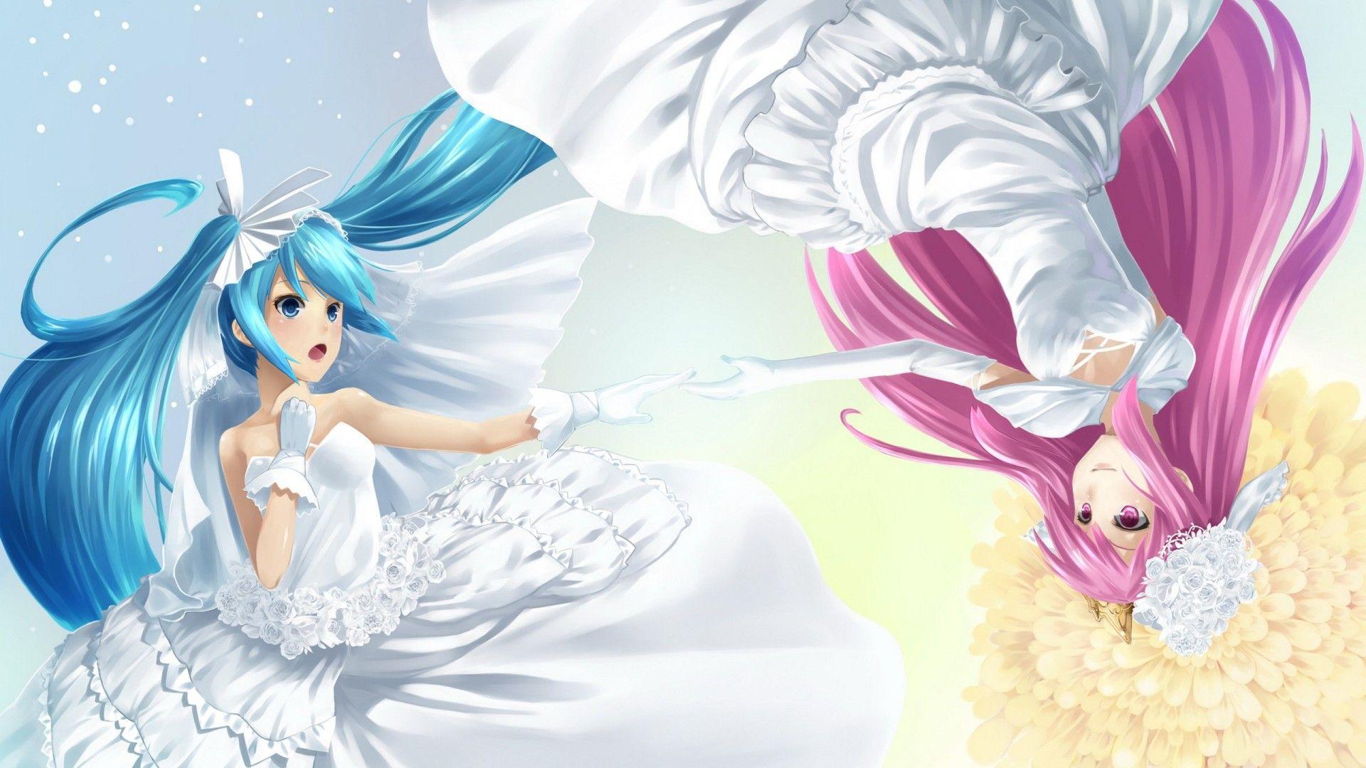 Lesbian anime wallpaper