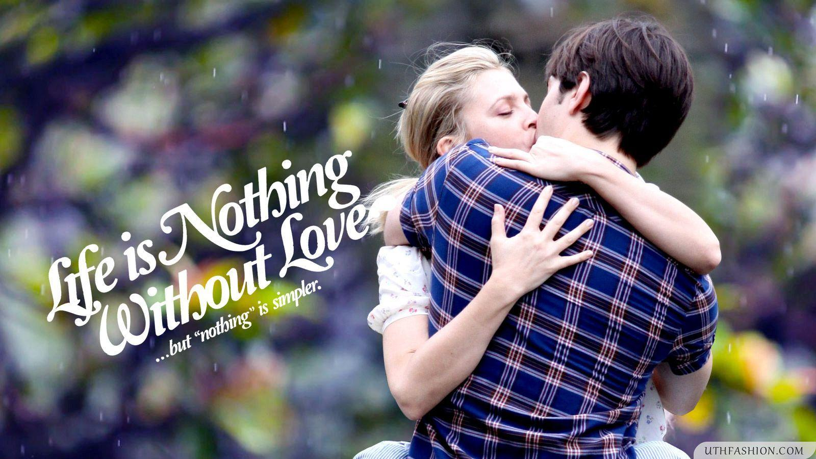 cute lovers kissing wallpapers